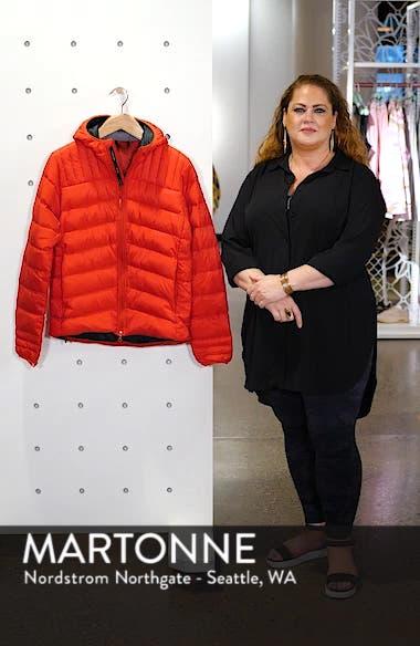 Brookvale Slim Fit Hooded Down Jacket, sales video thumbnail