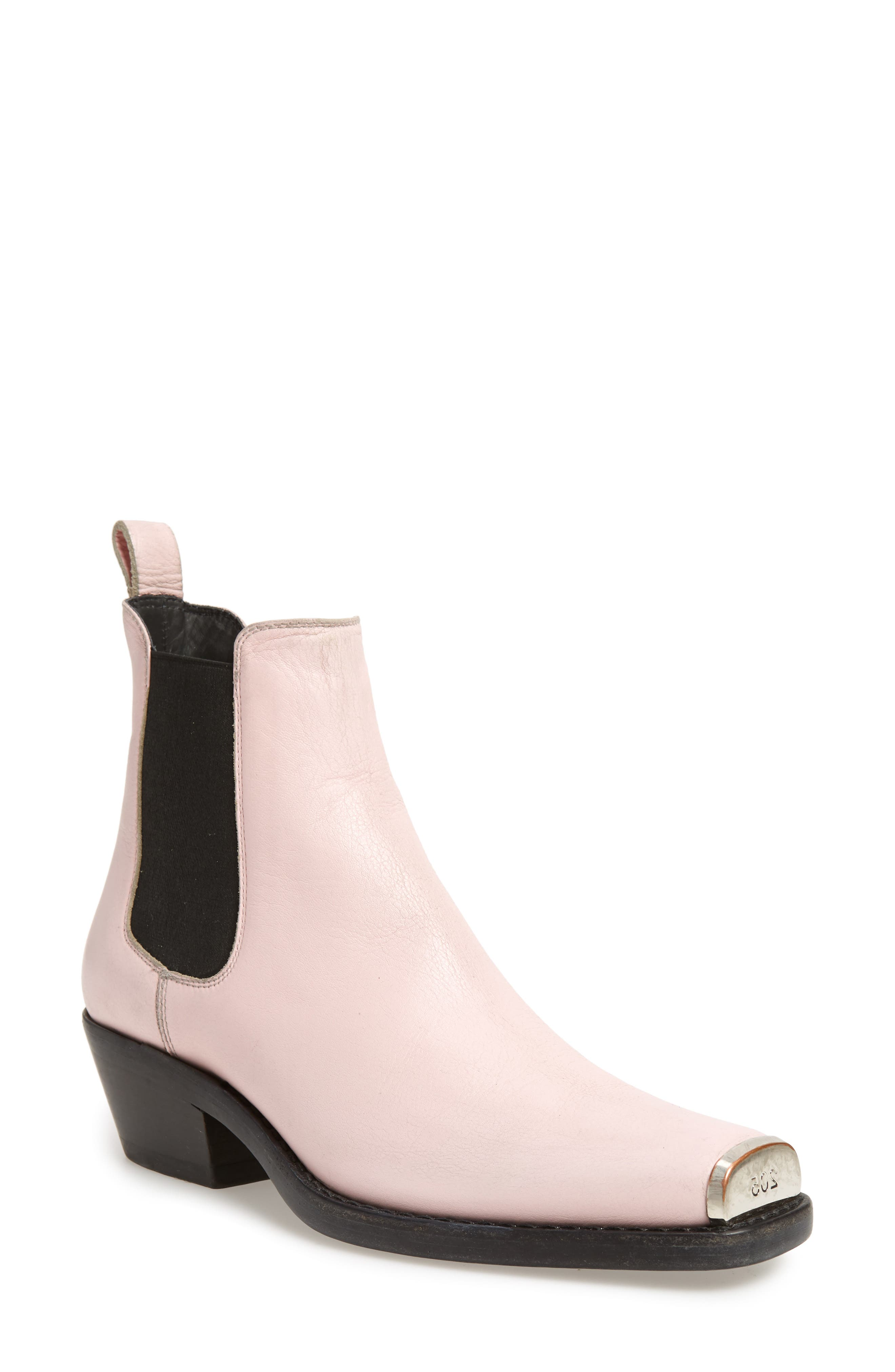 Western Claire Chelsea Boot,                             Main thumbnail 1, color,                             PINK