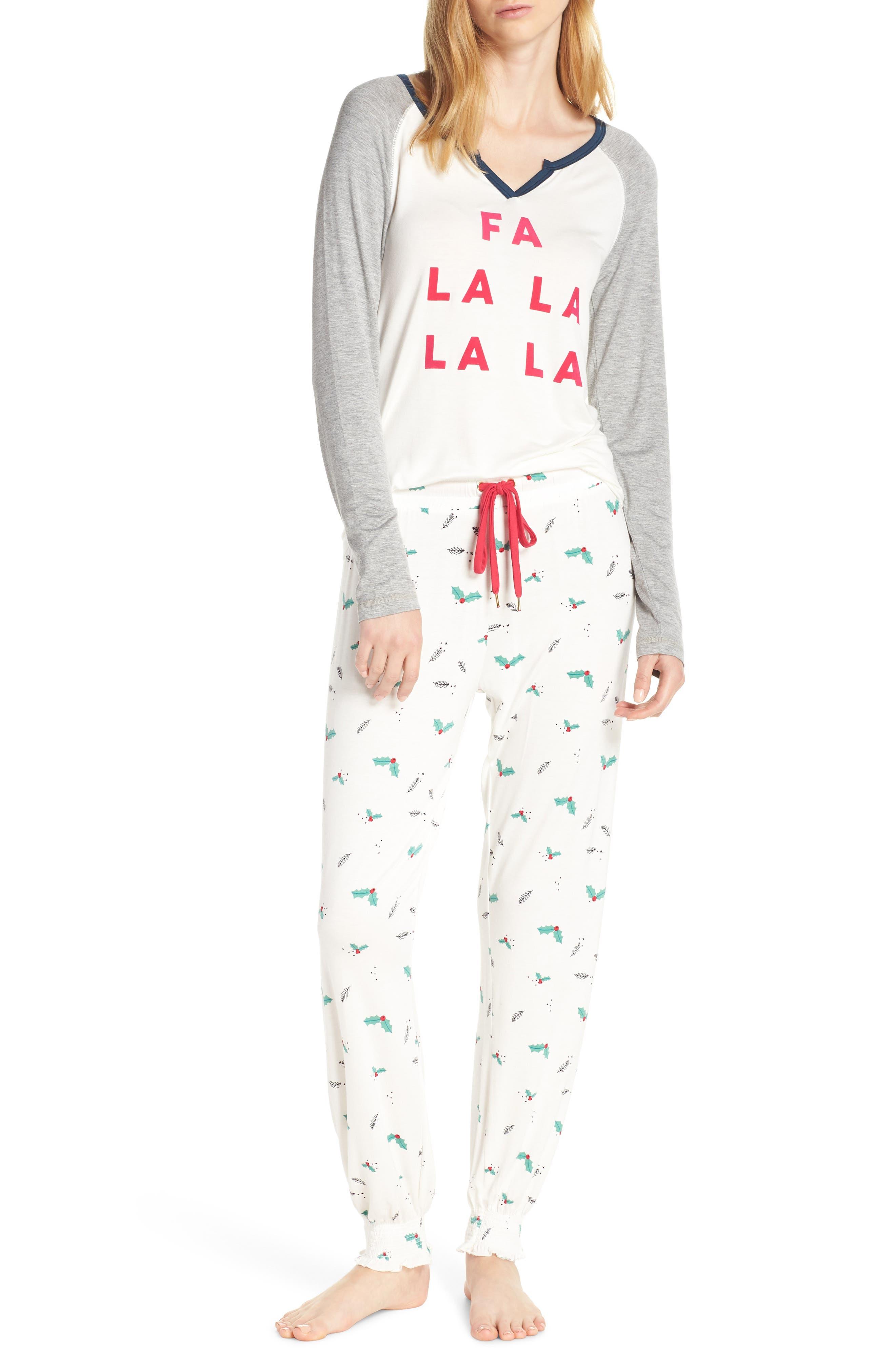 Honeydew Intimates Winter Breaker Pajamas, White