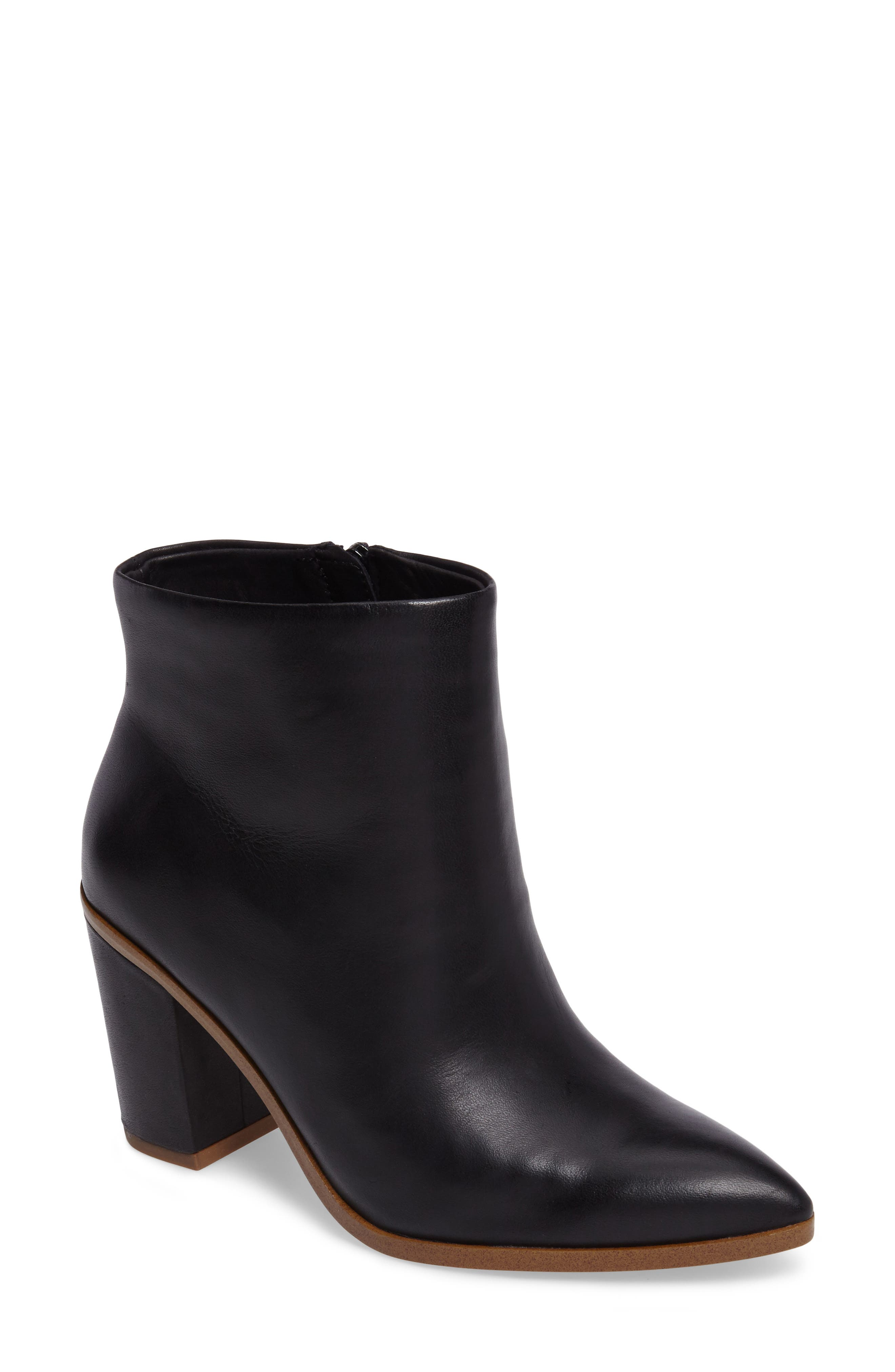 Paven Pointy Toe Bootie,                             Main thumbnail 1, color,                             001