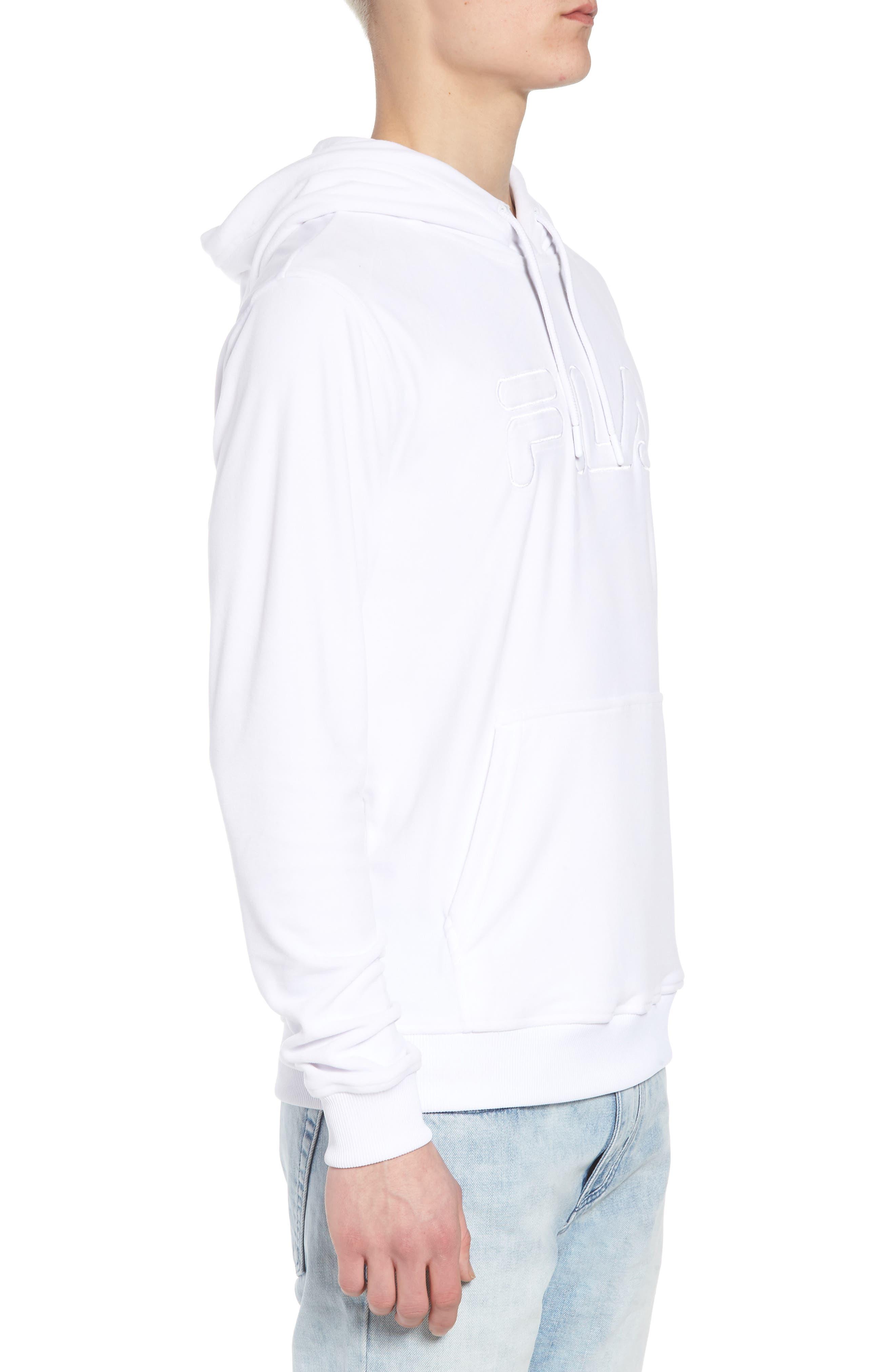 Asher Velour Hoodie Sweatshirt,                             Alternate thumbnail 3, color,                             100