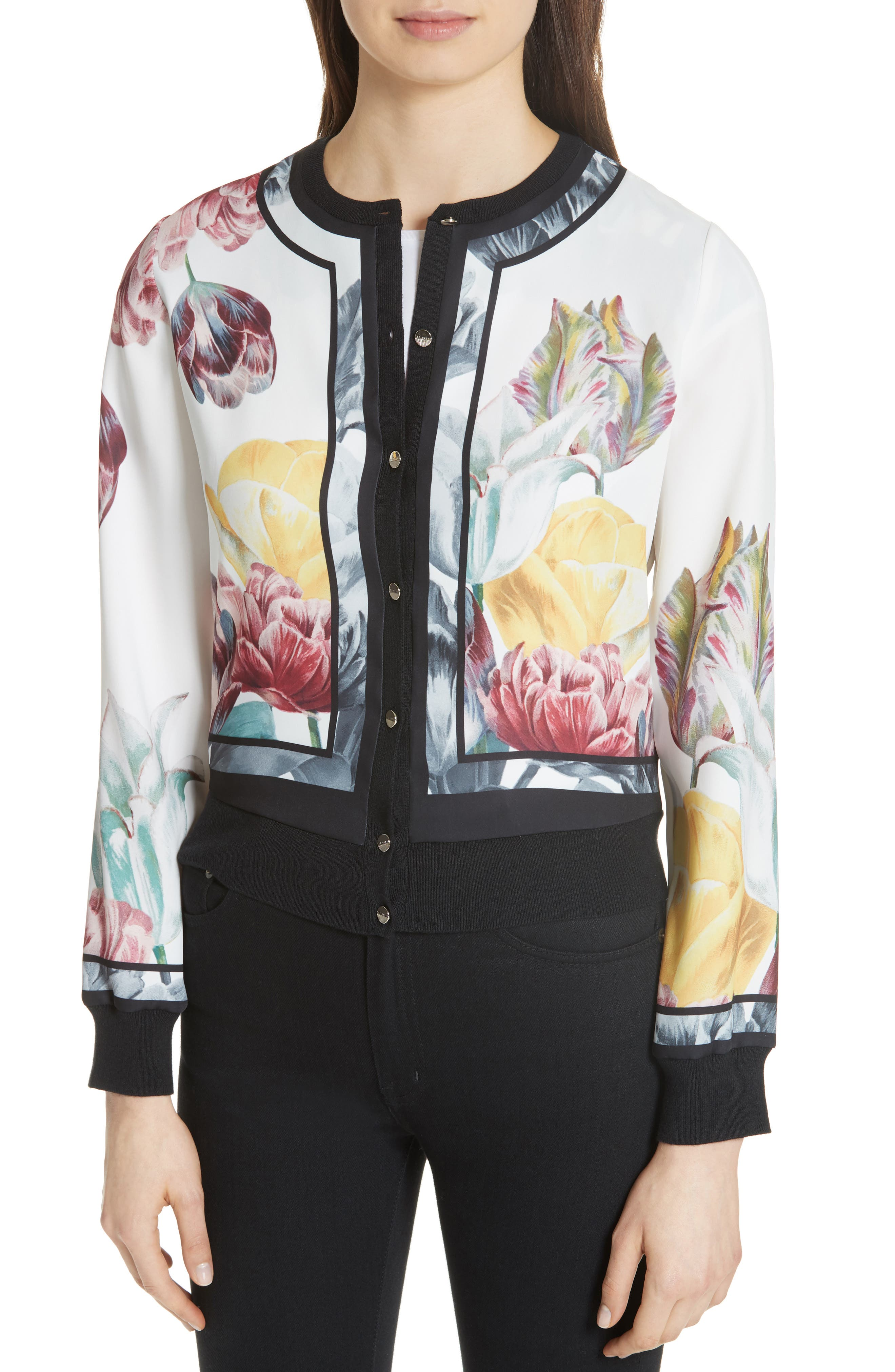 Olyviaa Tranquility Woven Jacket,                             Alternate thumbnail 4, color,                             WHITE