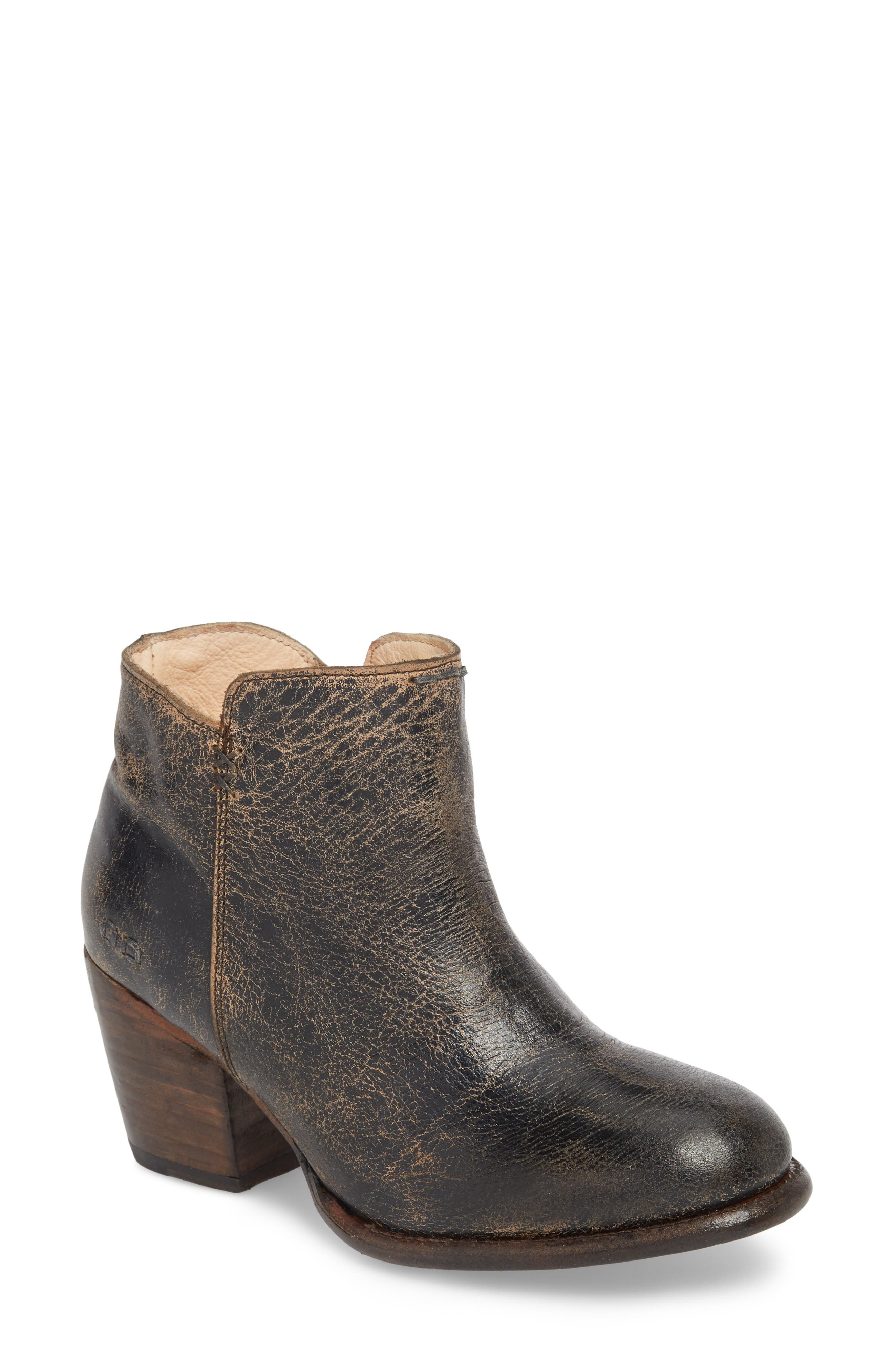 Yell Bootie,                             Main thumbnail 1, color,                             BLACK LUX