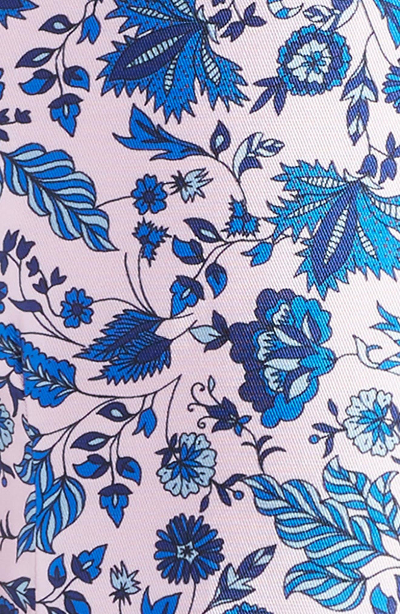 Print Fit & Flare Dress,                             Alternate thumbnail 3, color,                             684