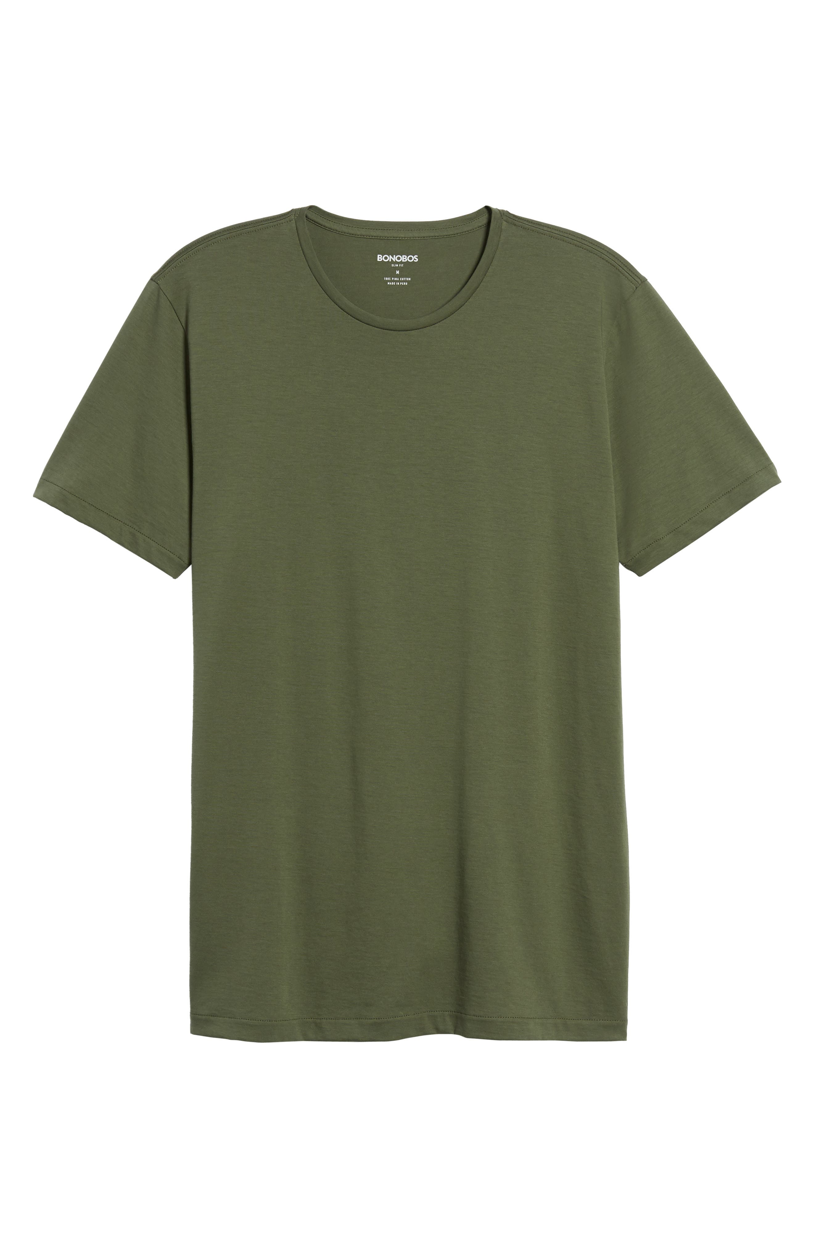 Refined T-Shirt,                             Alternate thumbnail 6, color,                             300