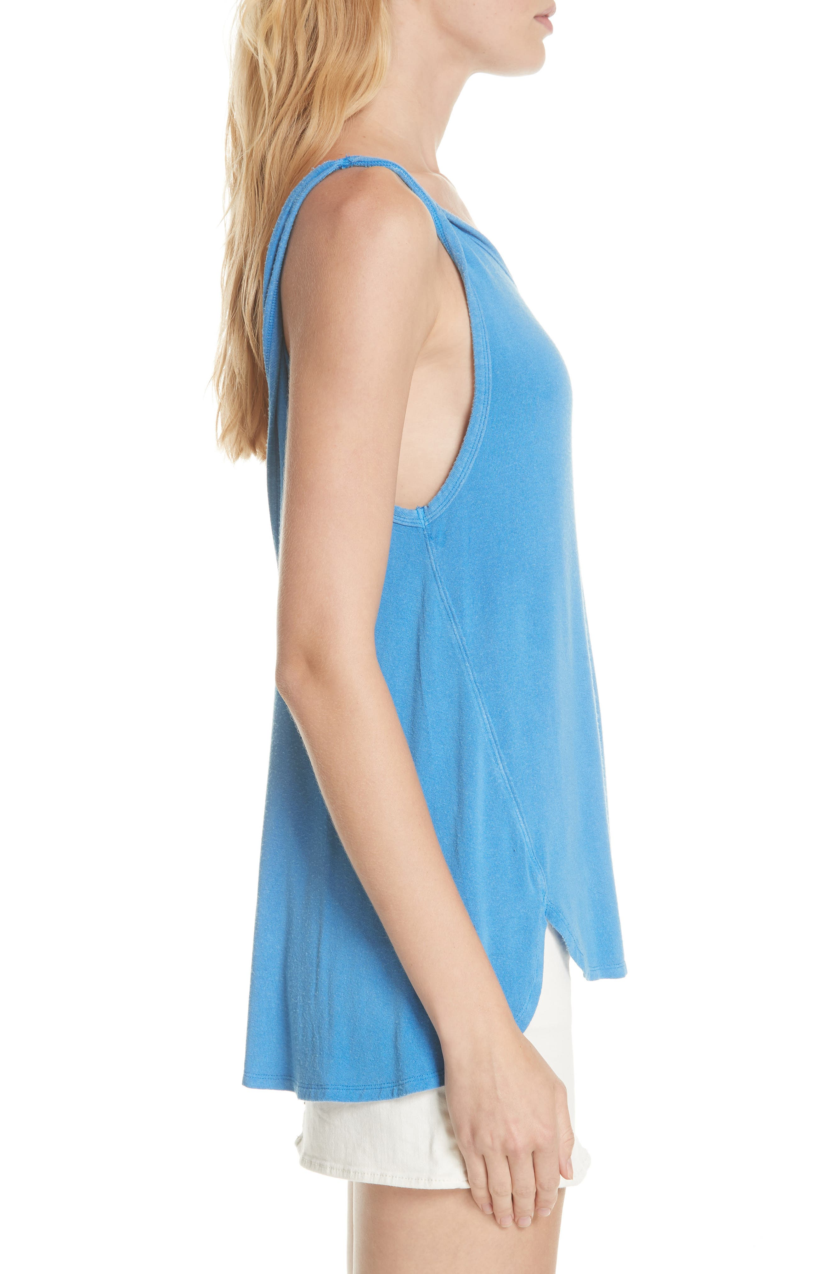 We the Free by Free People Atlantic Tank,                             Alternate thumbnail 3, color,                             BLUE