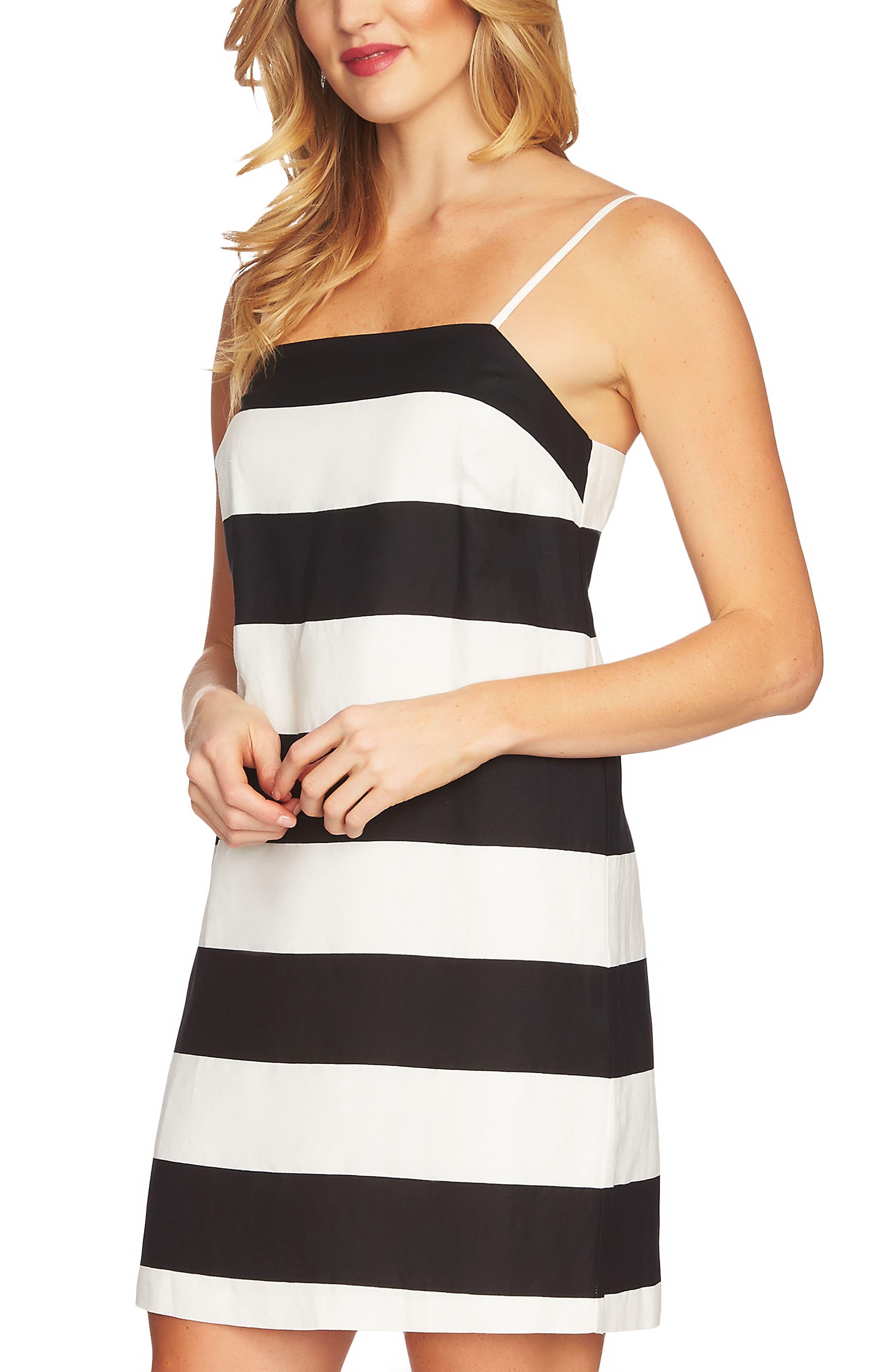 Carnival Stripe Dress,                             Alternate thumbnail 8, color,