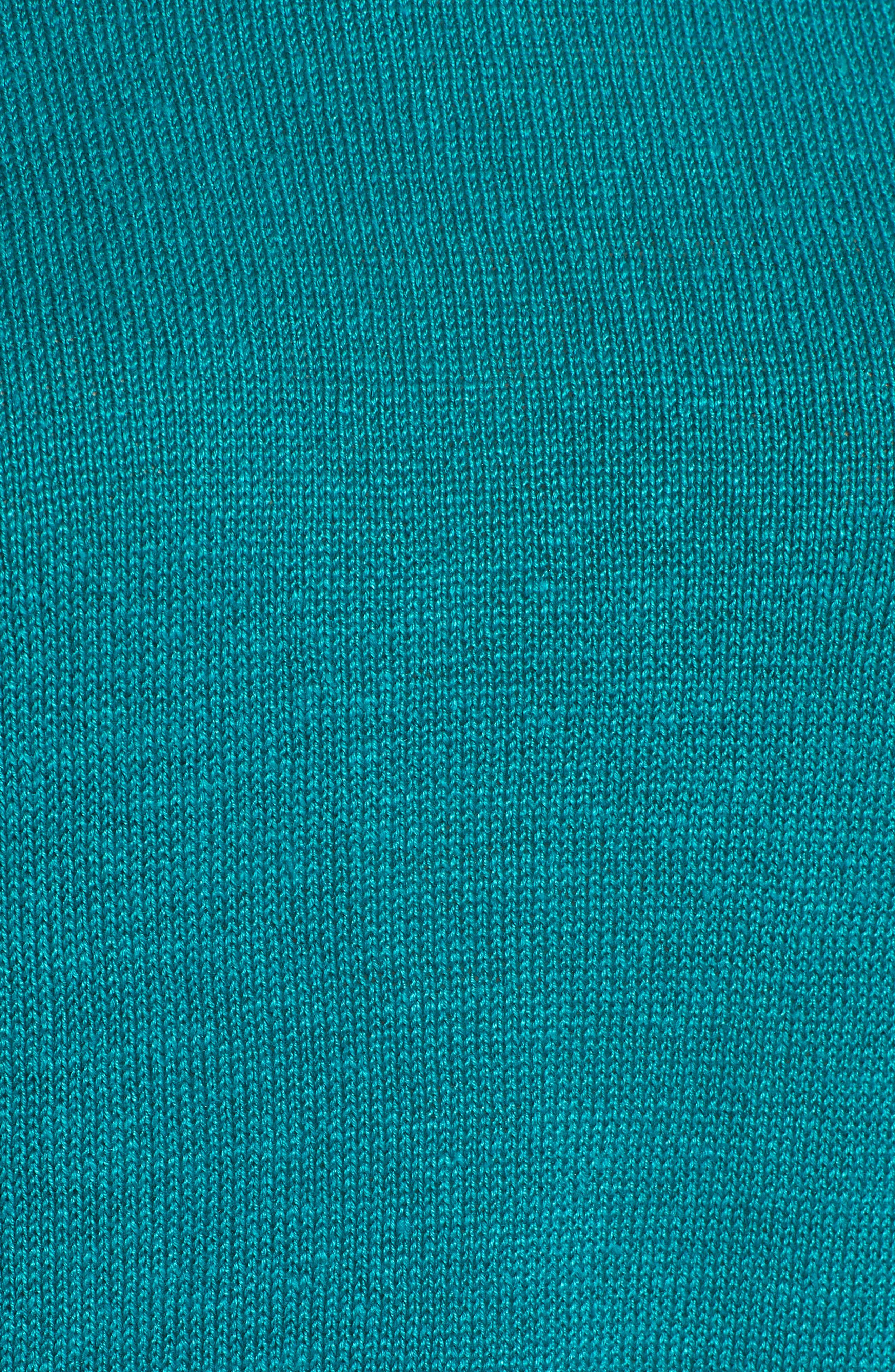 Short Organic Linen Poncho Top,                             Alternate thumbnail 24, color,