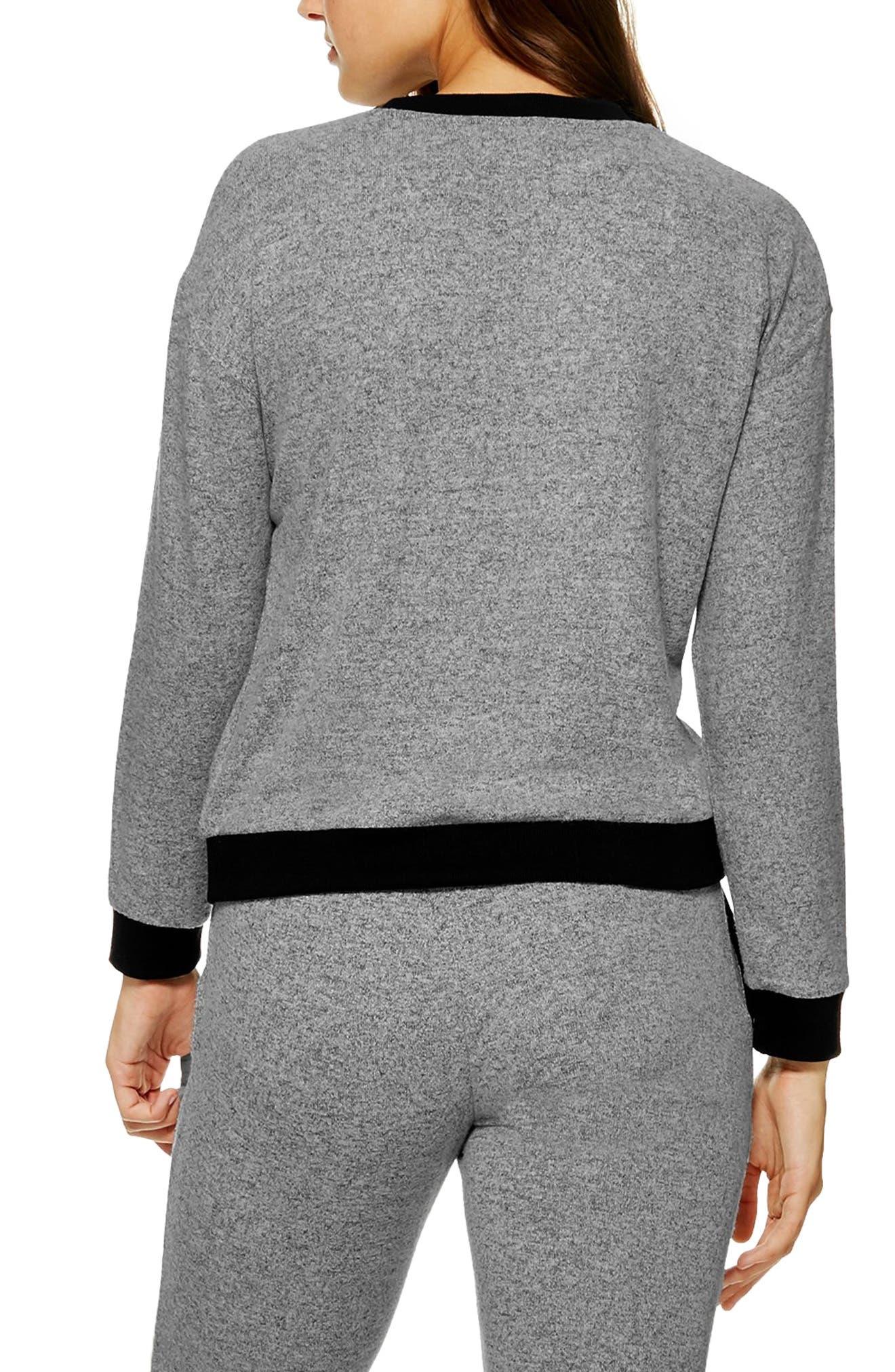 Supersoft Sweatshirt,                         Main,                         color, GREY MARL