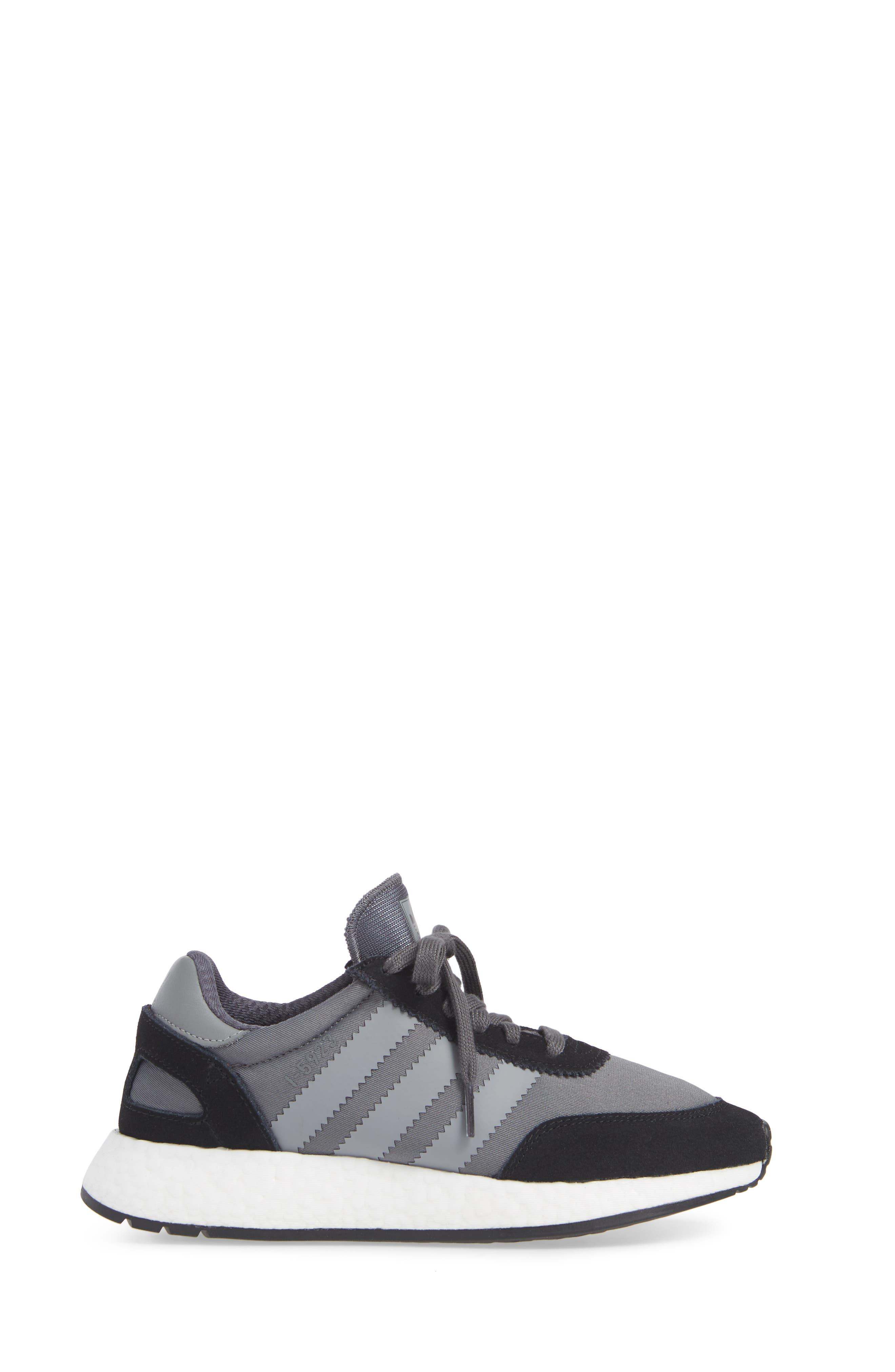 I-5923 Sneaker,                             Alternate thumbnail 3, color,                             BLACK/ GREY THREE/ GREY FIVE