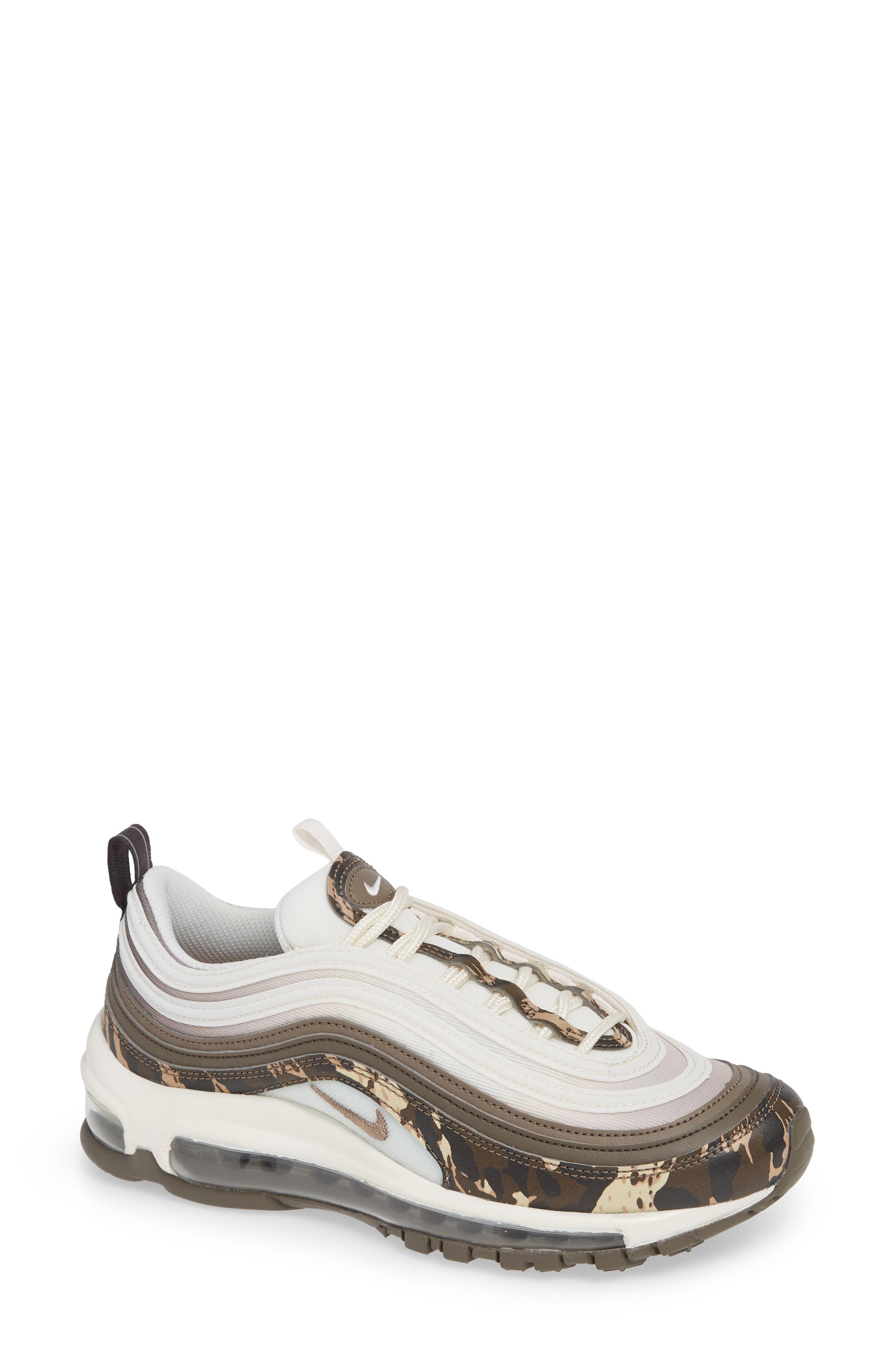 Air Max 97 Premium Sneaker,                             Main thumbnail 1, color,                             BROWN/ PHANTOM