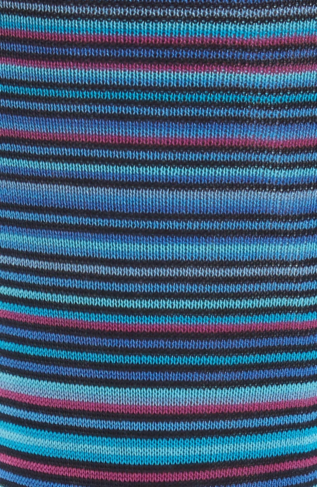 Stripe Crew Socks,                             Alternate thumbnail 4, color,
