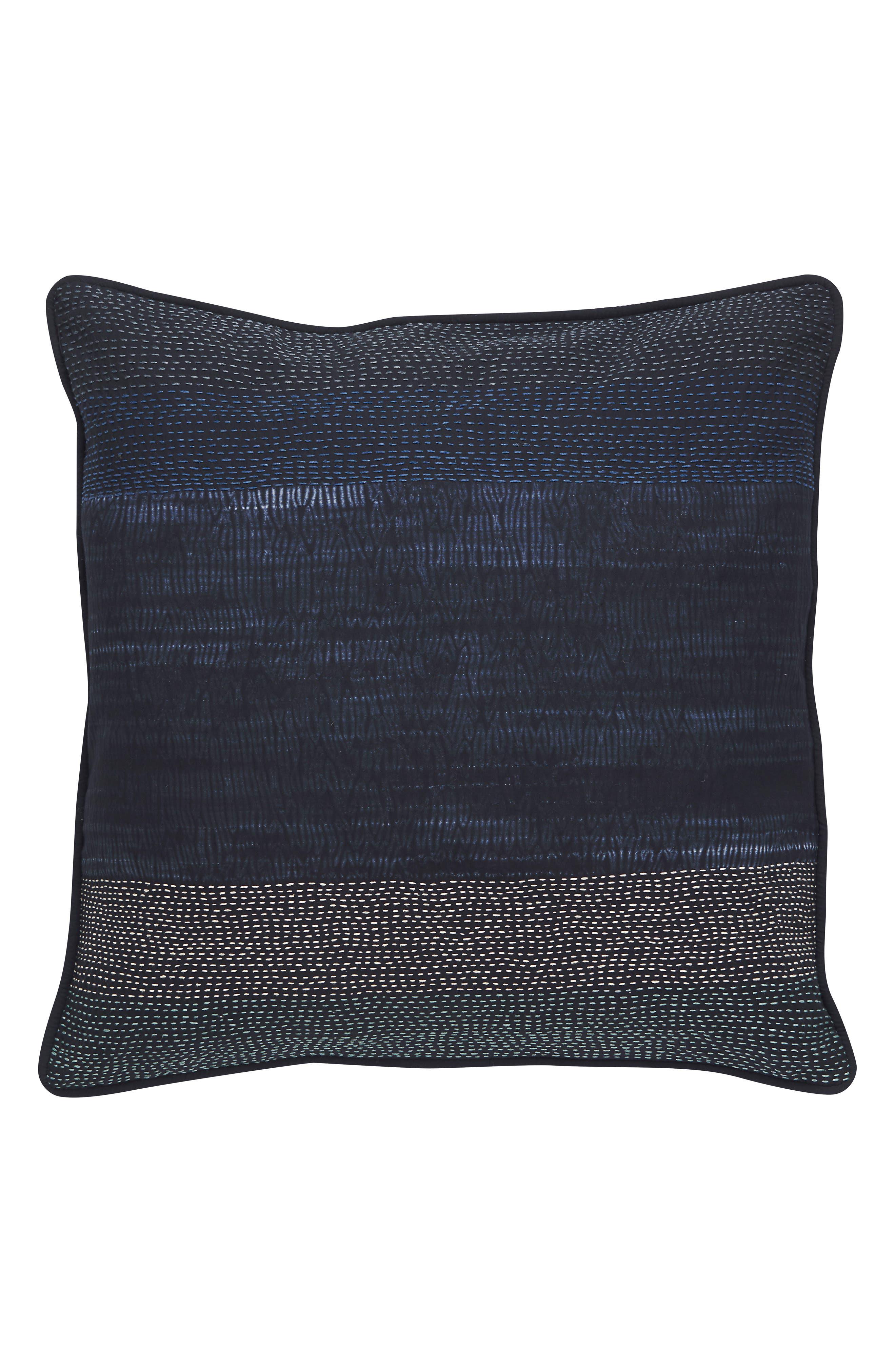 Blue Nights Pillow,                             Main thumbnail 1, color,                             BLUE