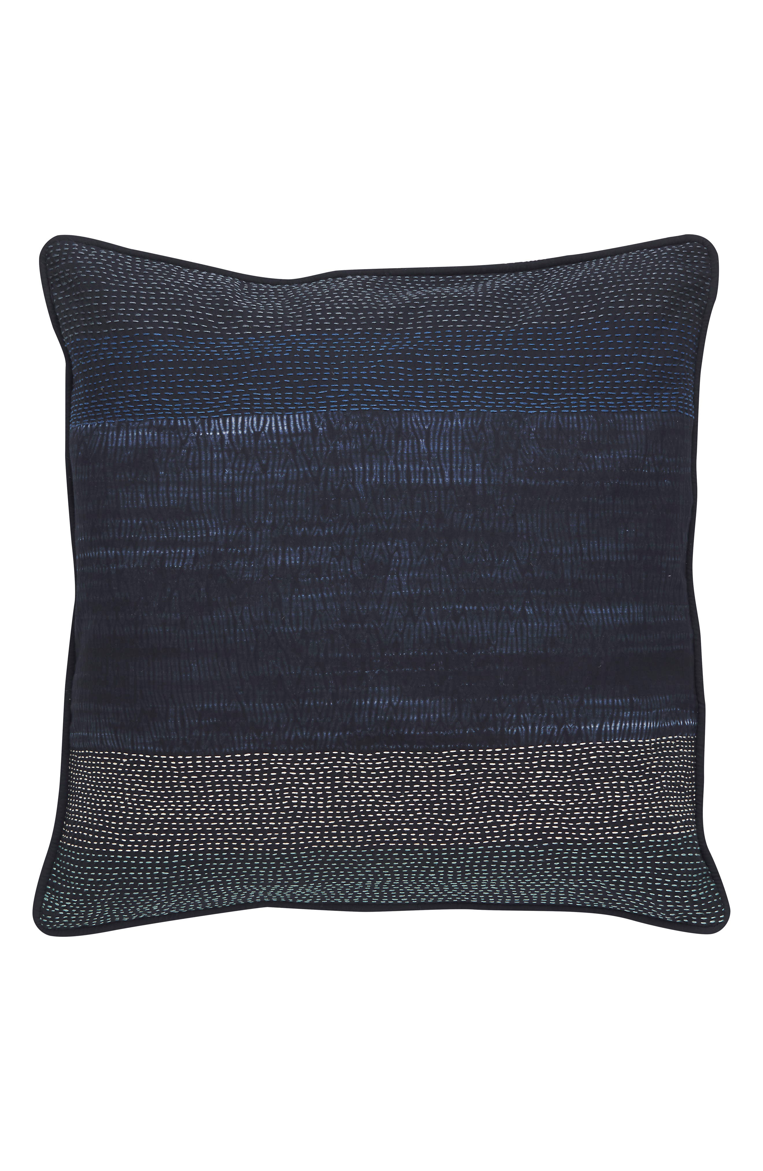 Blue Nights Pillow,                         Main,                         color, BLUE