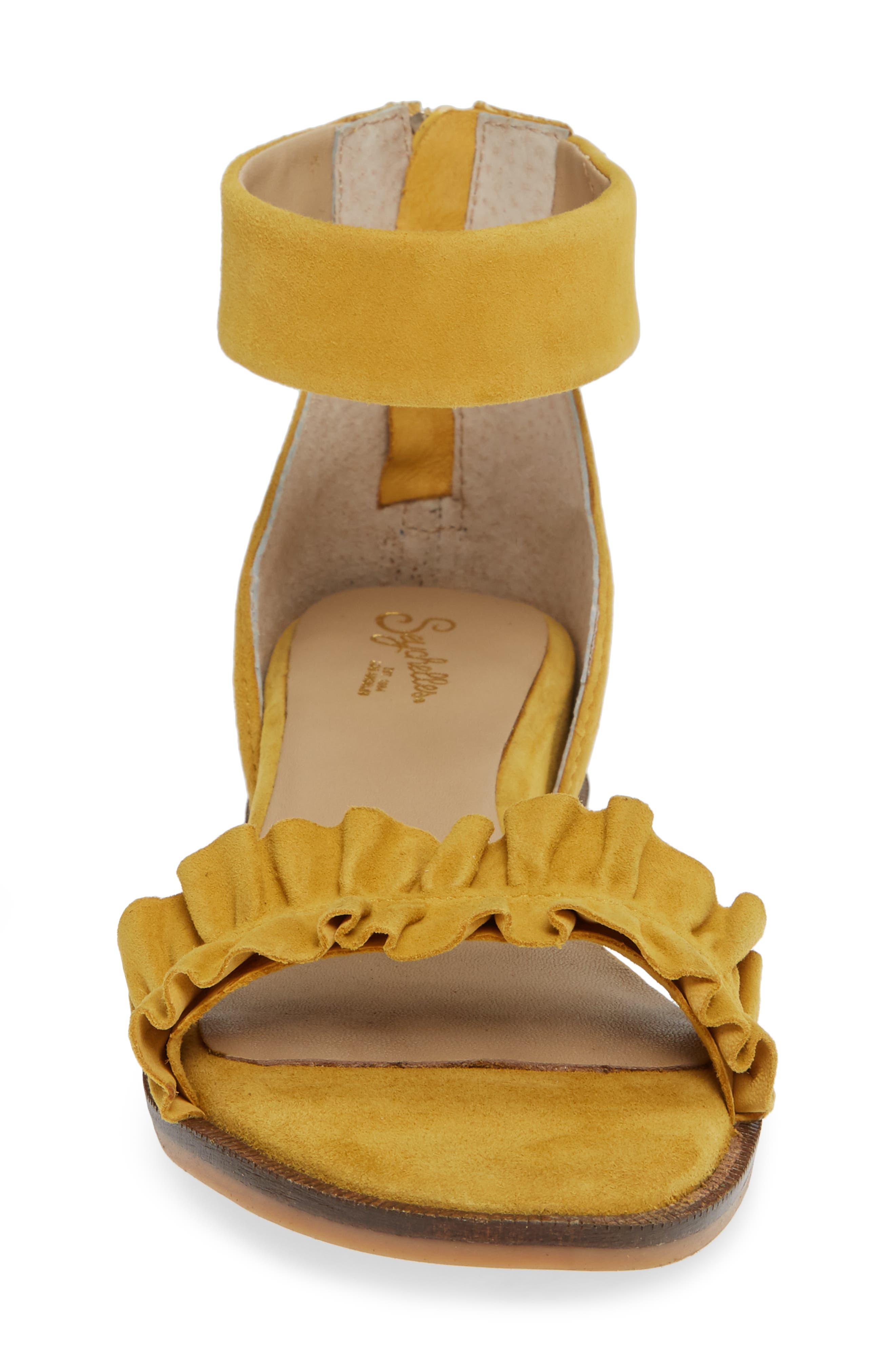 Noble Suede Sandal,                             Alternate thumbnail 4, color,                             700