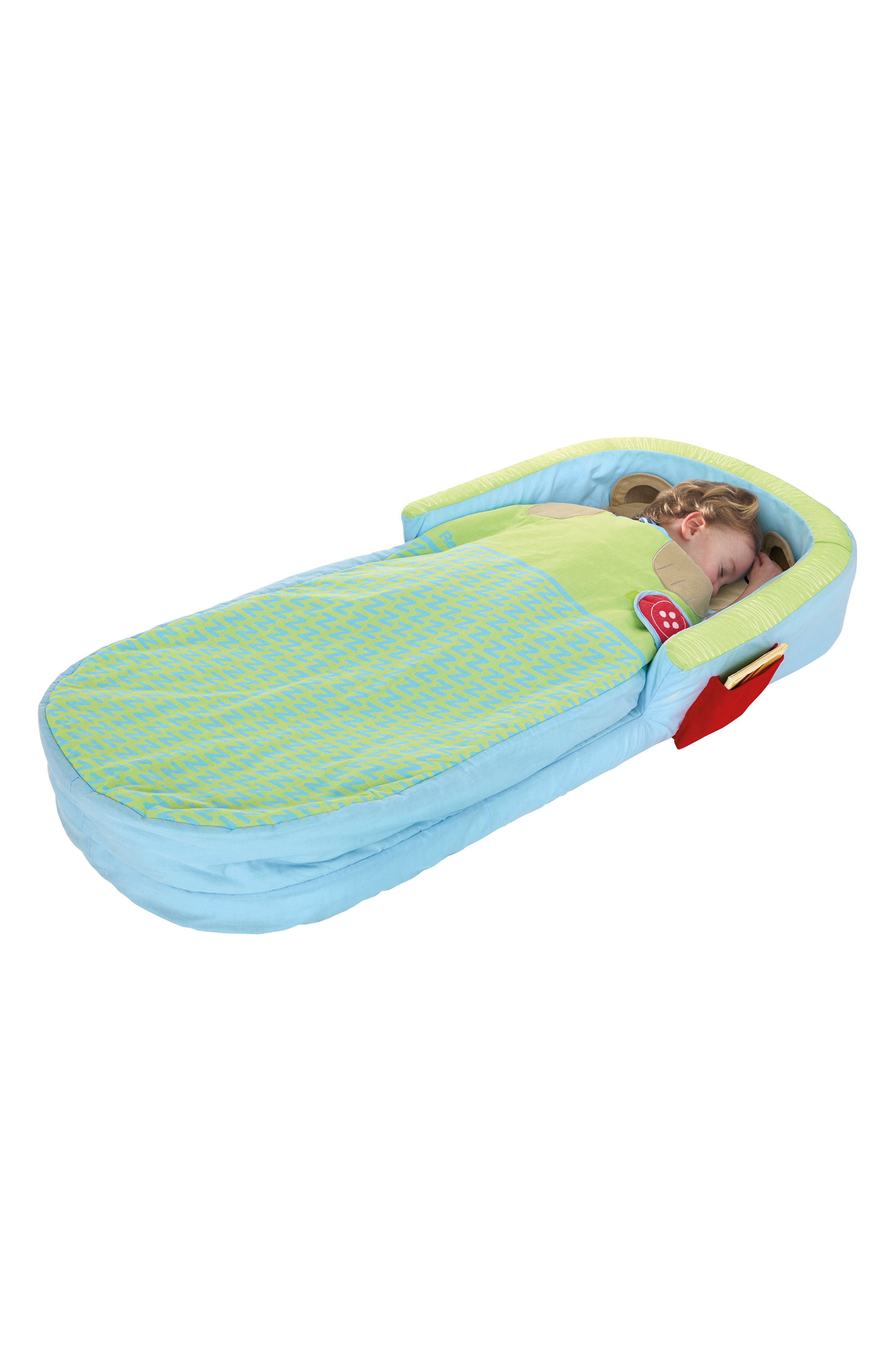 Bear Hug My First Ready Bed Inflatable Bed & Cover Set,                             Alternate thumbnail 4, color,                             400
