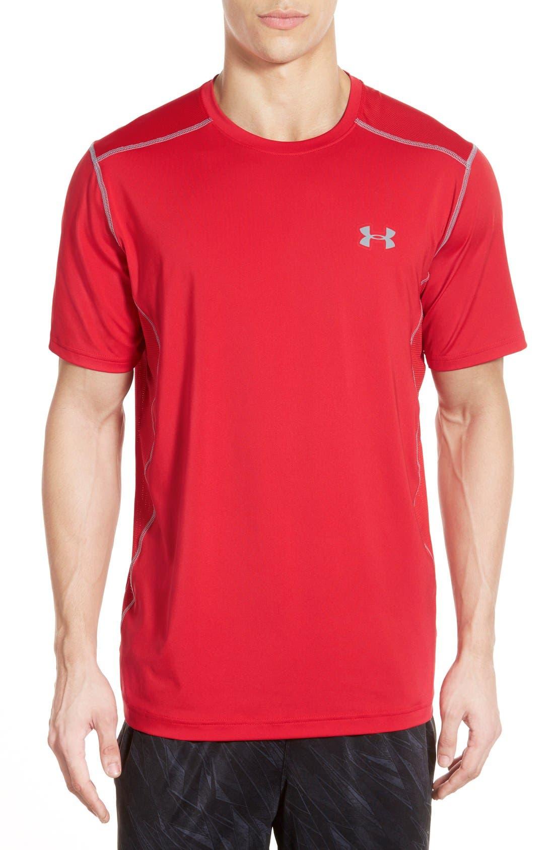 'Raid' HeatGear<sup>®</sup> Training T-Shirt,                             Main thumbnail 23, color,