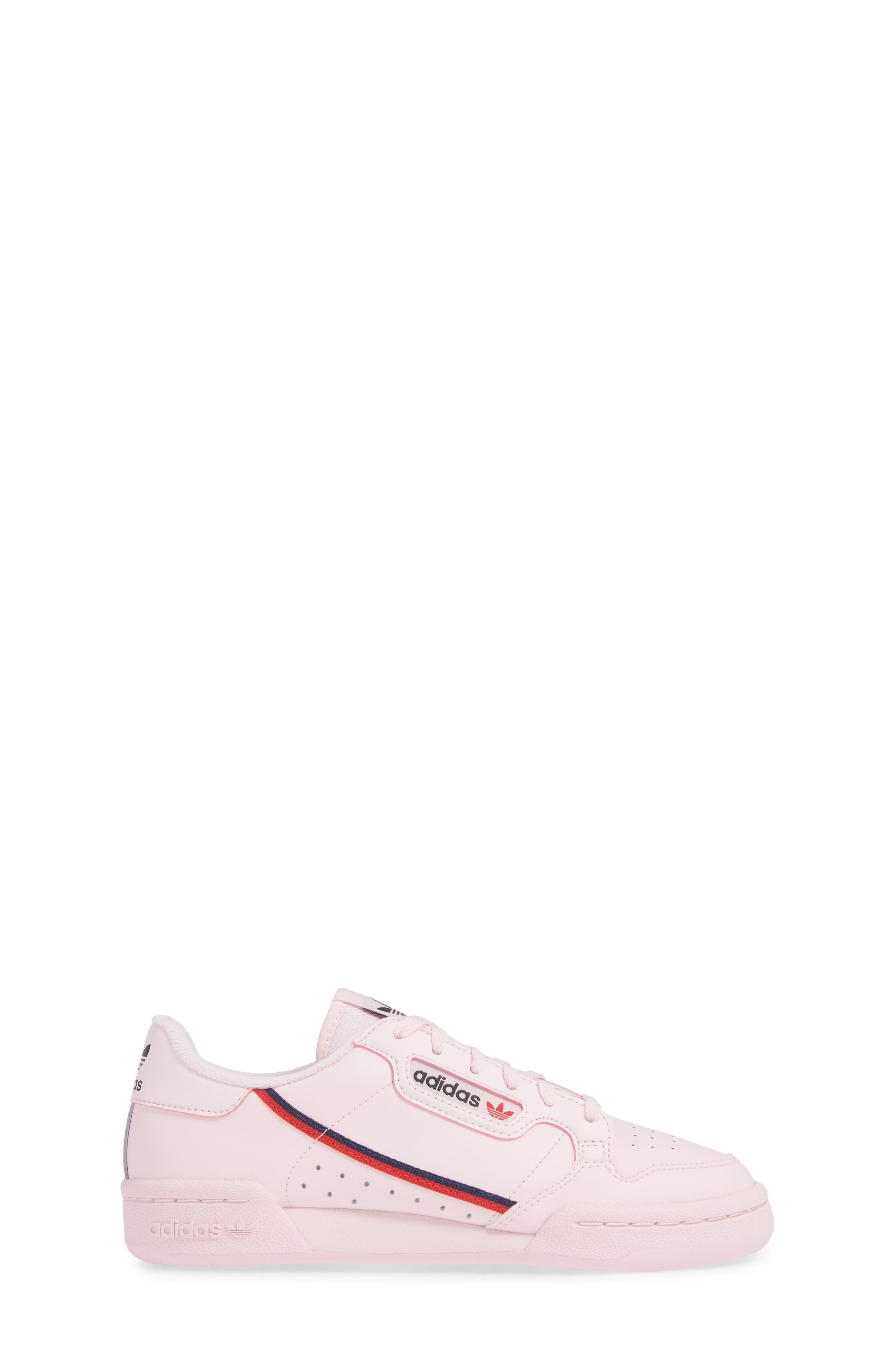 ADIDAS,                             Continental 80 Sneaker,                             Alternate thumbnail 3, color,                             CLEAR PINK