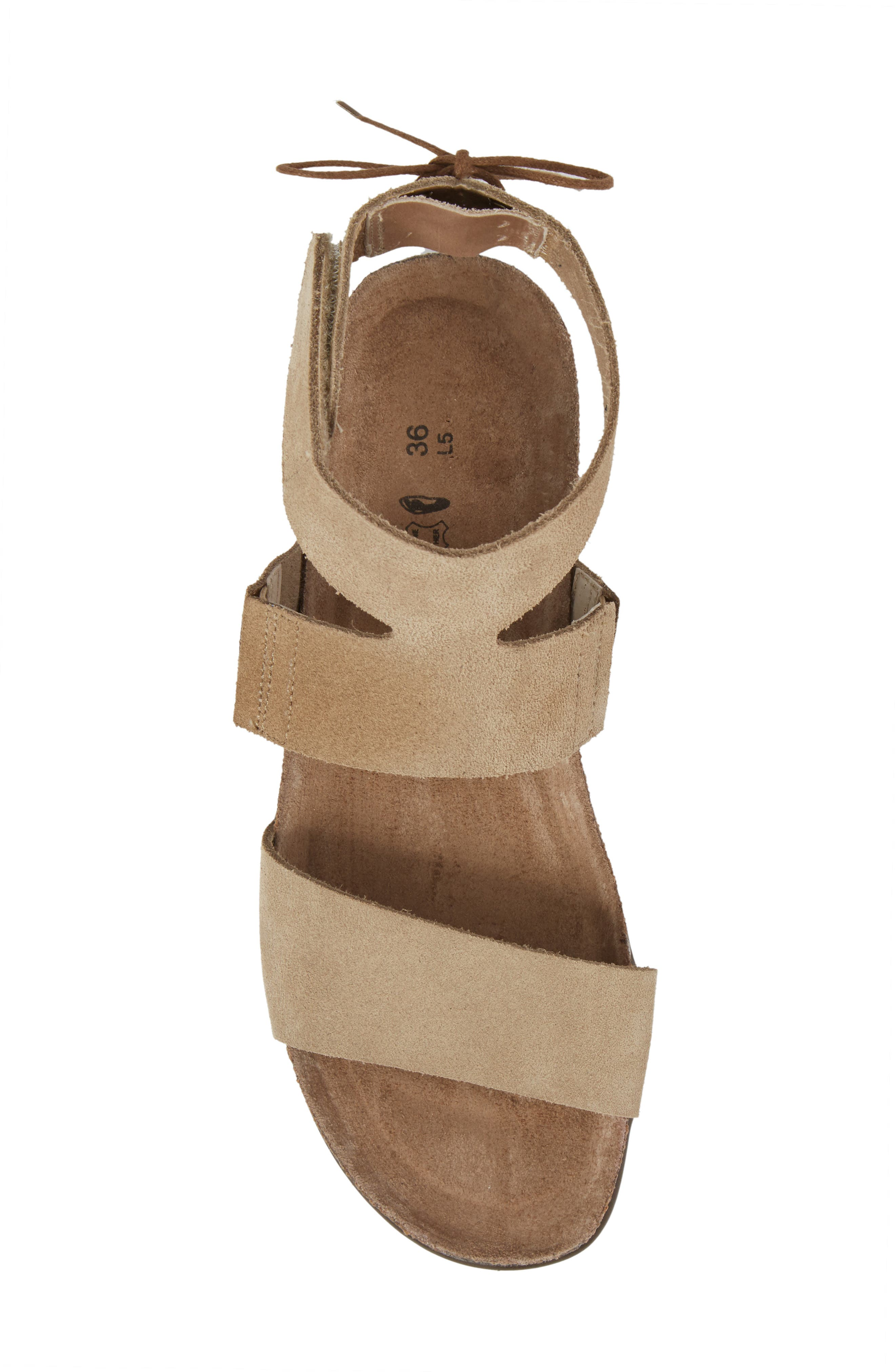 Larissa Ankle Strap Sandal,                             Alternate thumbnail 19, color,