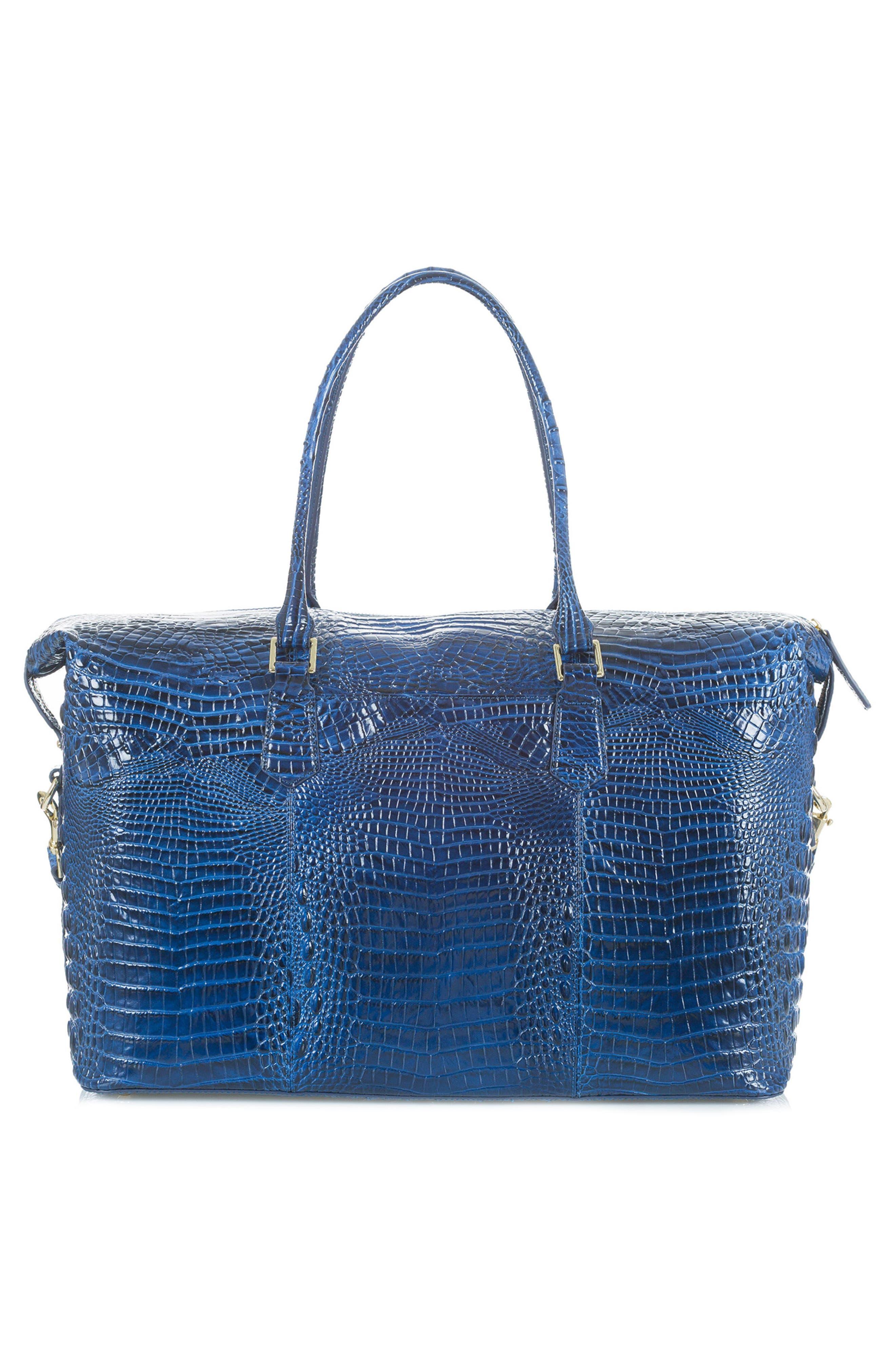'Duxbury' Leather Travel Bag,                             Alternate thumbnail 12, color,