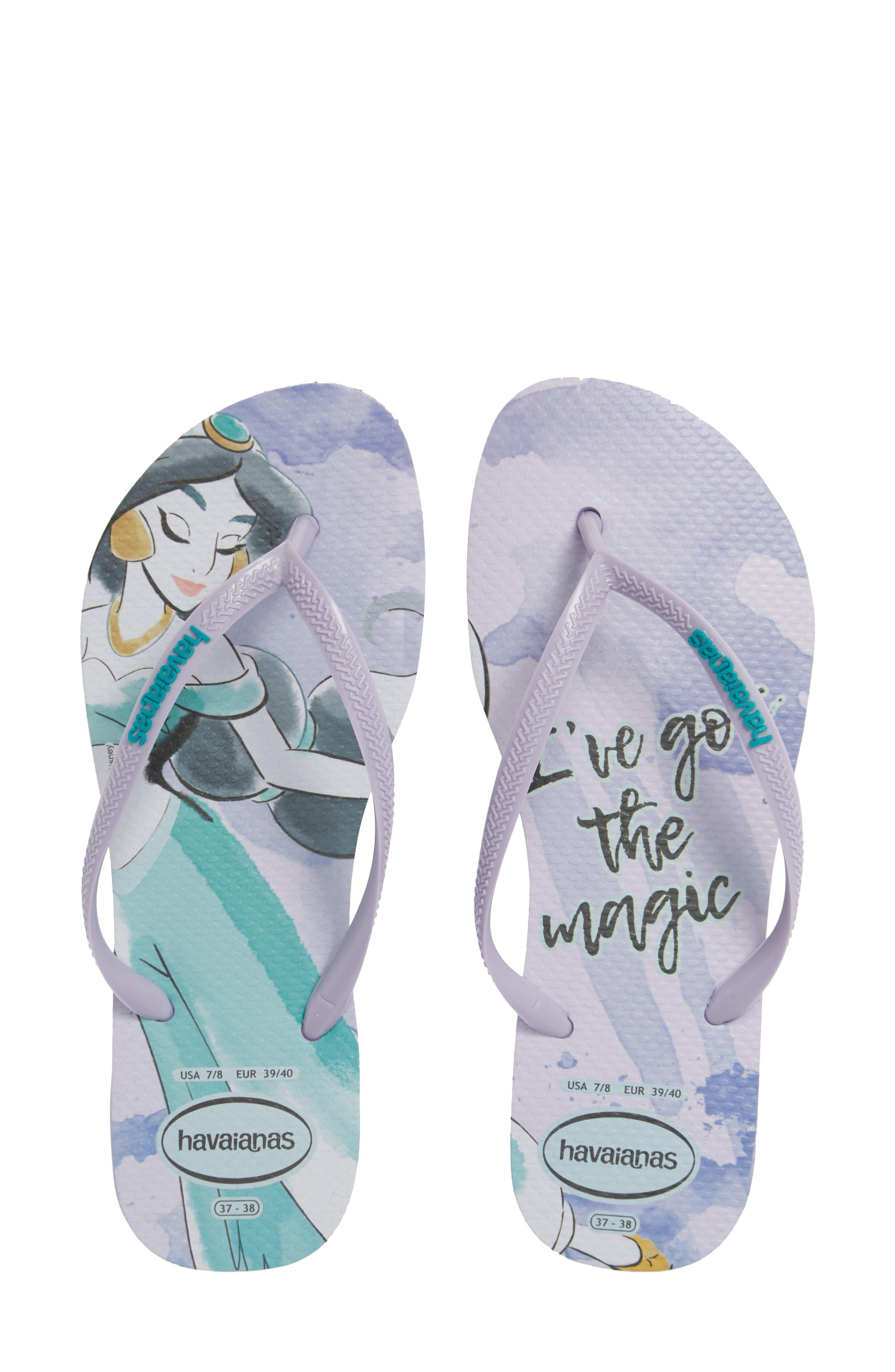 84af84343af66 Havaiana Slim - Disney Princess Flip Flop