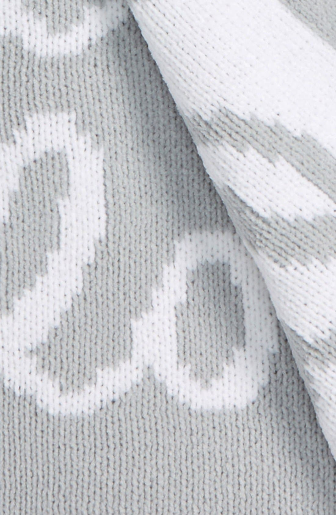 Chenille Blanket,                             Alternate thumbnail 2, color,                             GREY MICRO LOVE