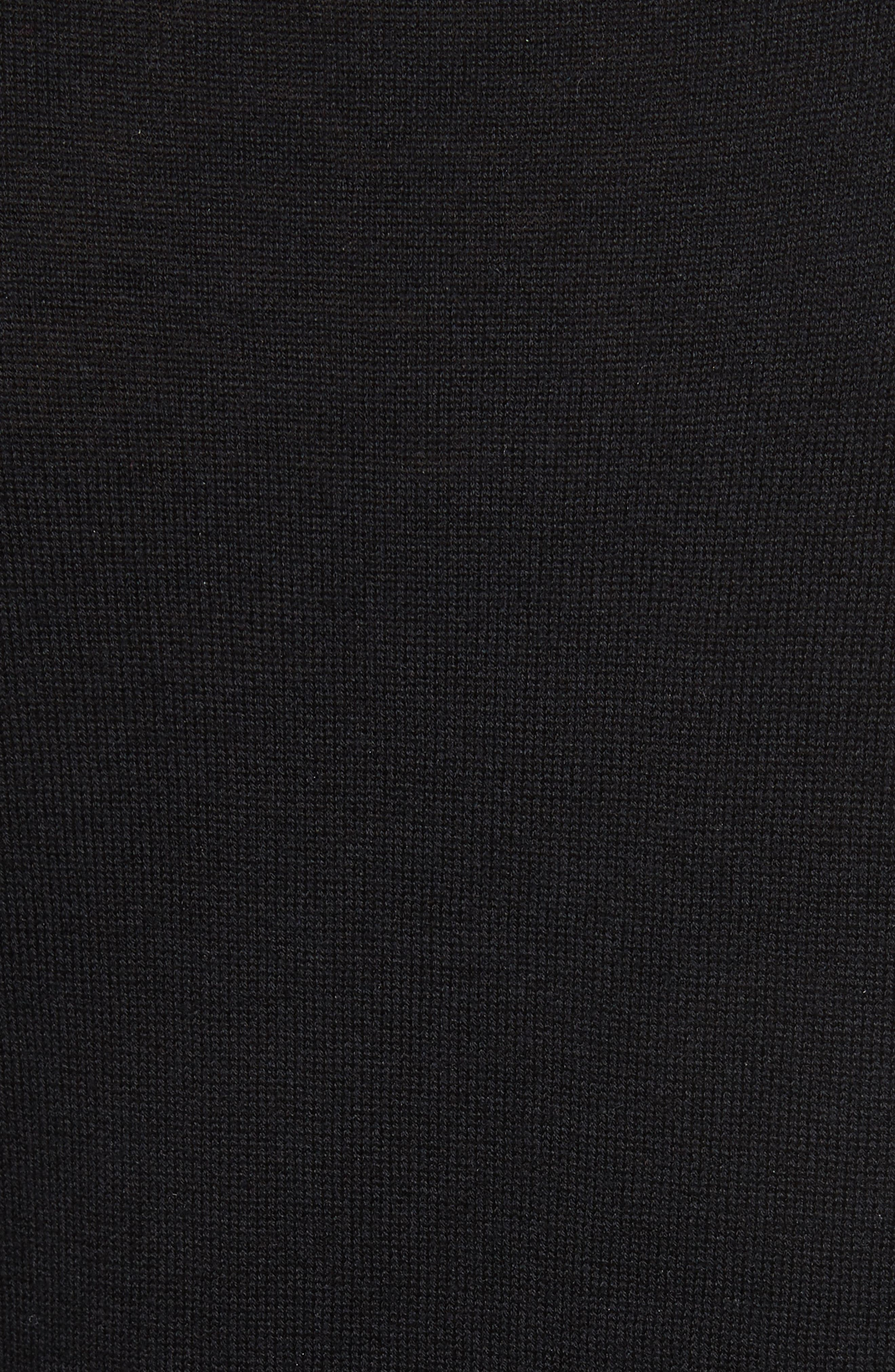 Catriona Wool & Silk Sweater Dress,                             Alternate thumbnail 5, color,                             002