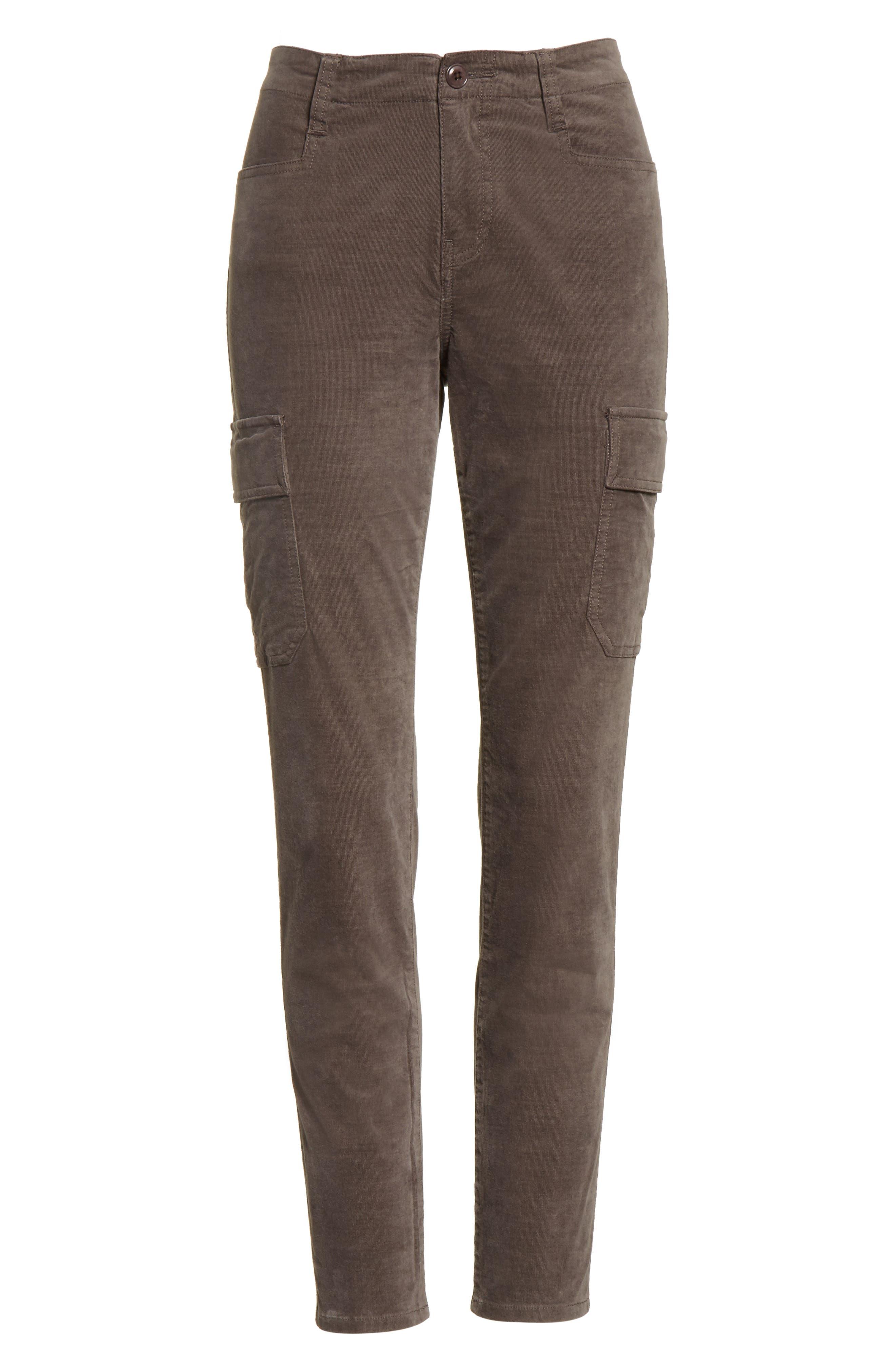 Skinny Corduroy Cargo Pants,                             Alternate thumbnail 11, color,