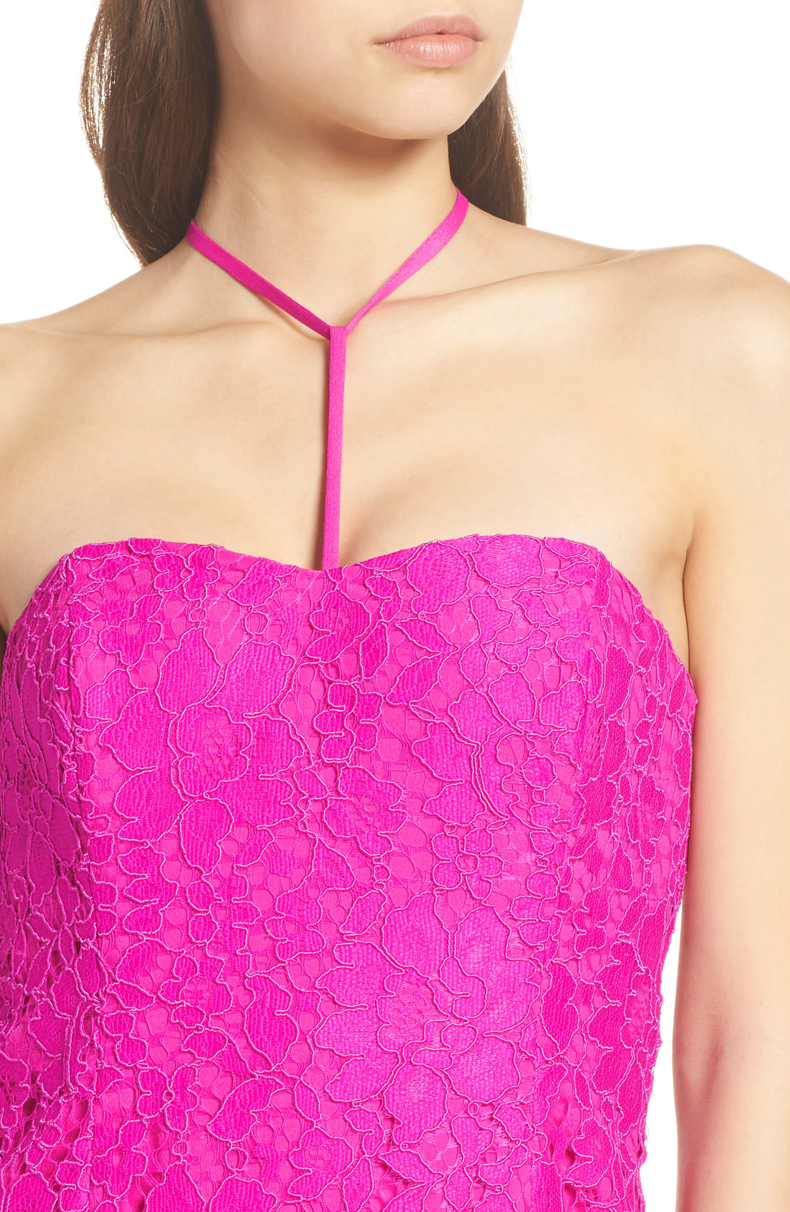 Demi Lace Dress,                             Alternate thumbnail 6, color,                             650