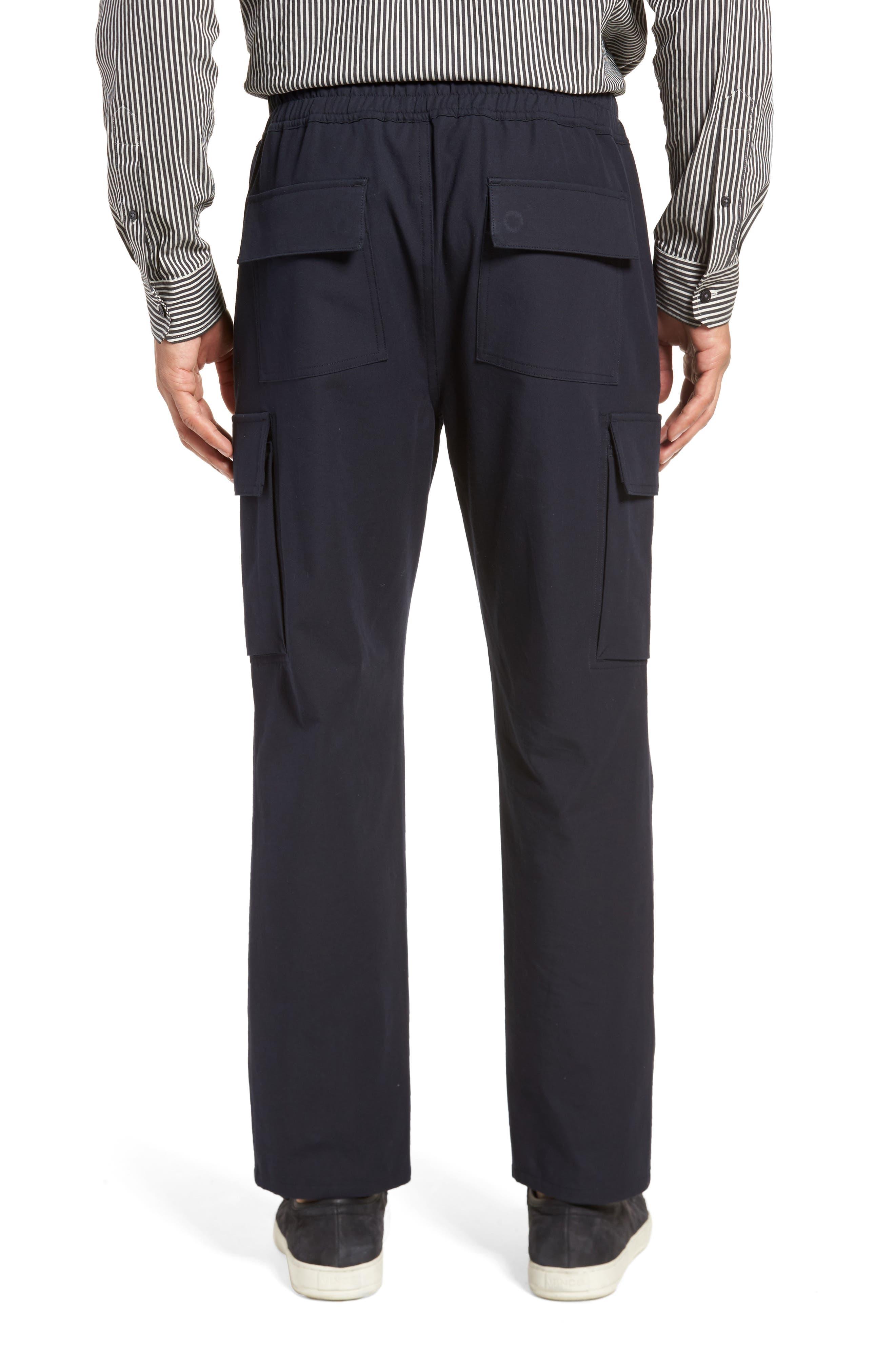 Regular Fit Drawstring Pants,                             Alternate thumbnail 2, color,