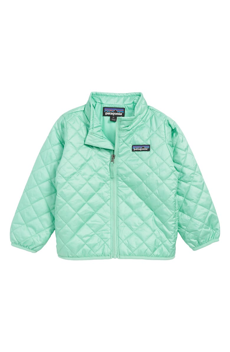 e608cb8ce Patagonia Nano Puff® Quilted Water Resistant Jacket (Toddler Girls ...