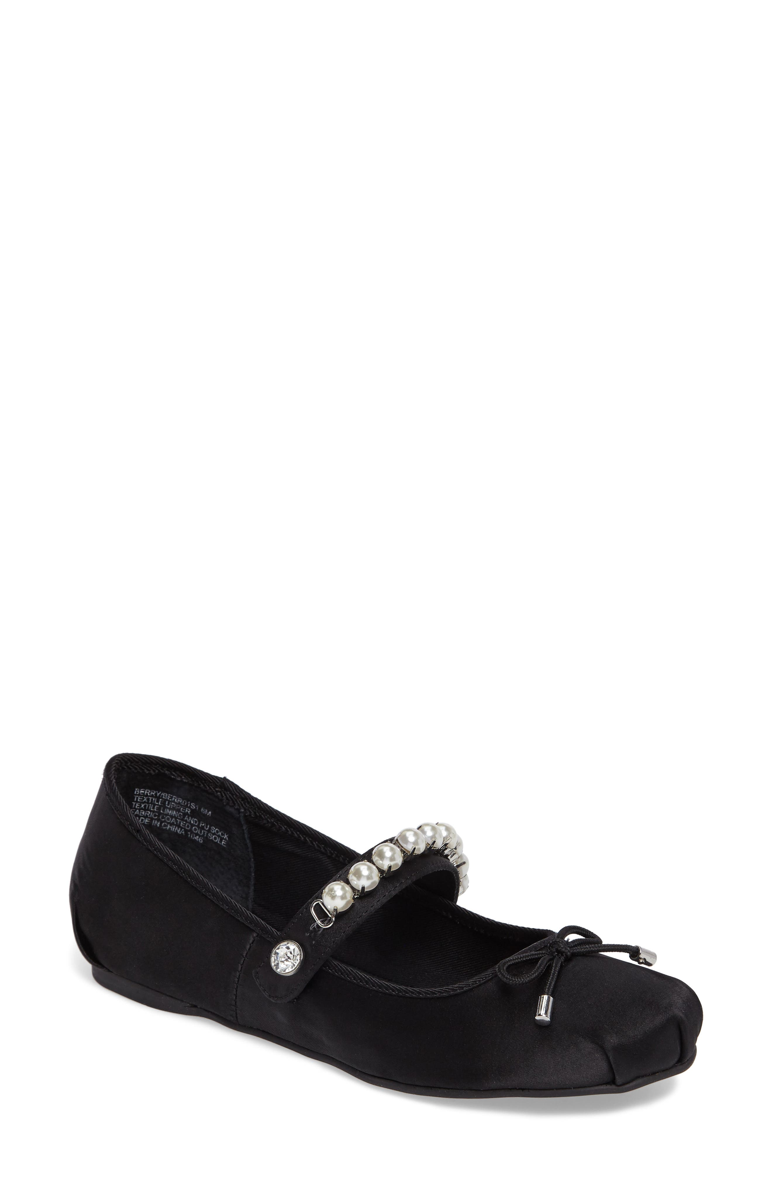 Berry Mary Jane Flat,                         Main,                         color, 001
