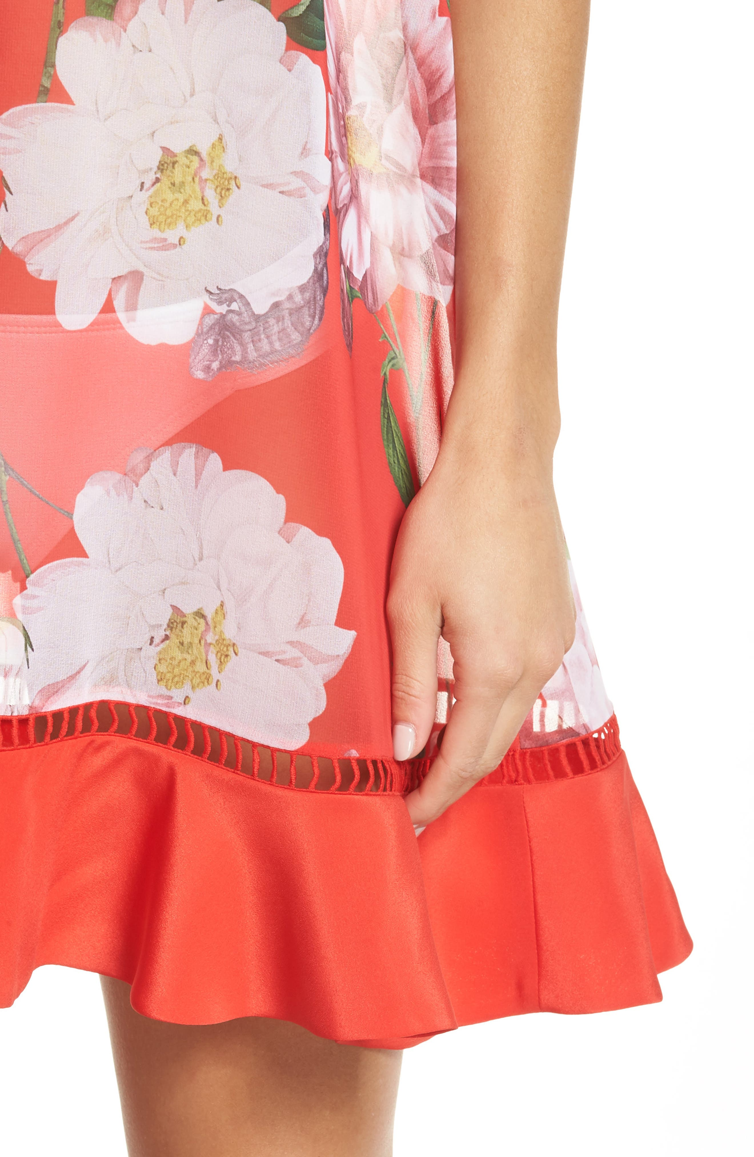 Ceskier Iguazu Cover-Up Dress,                             Alternate thumbnail 4, color,                             611