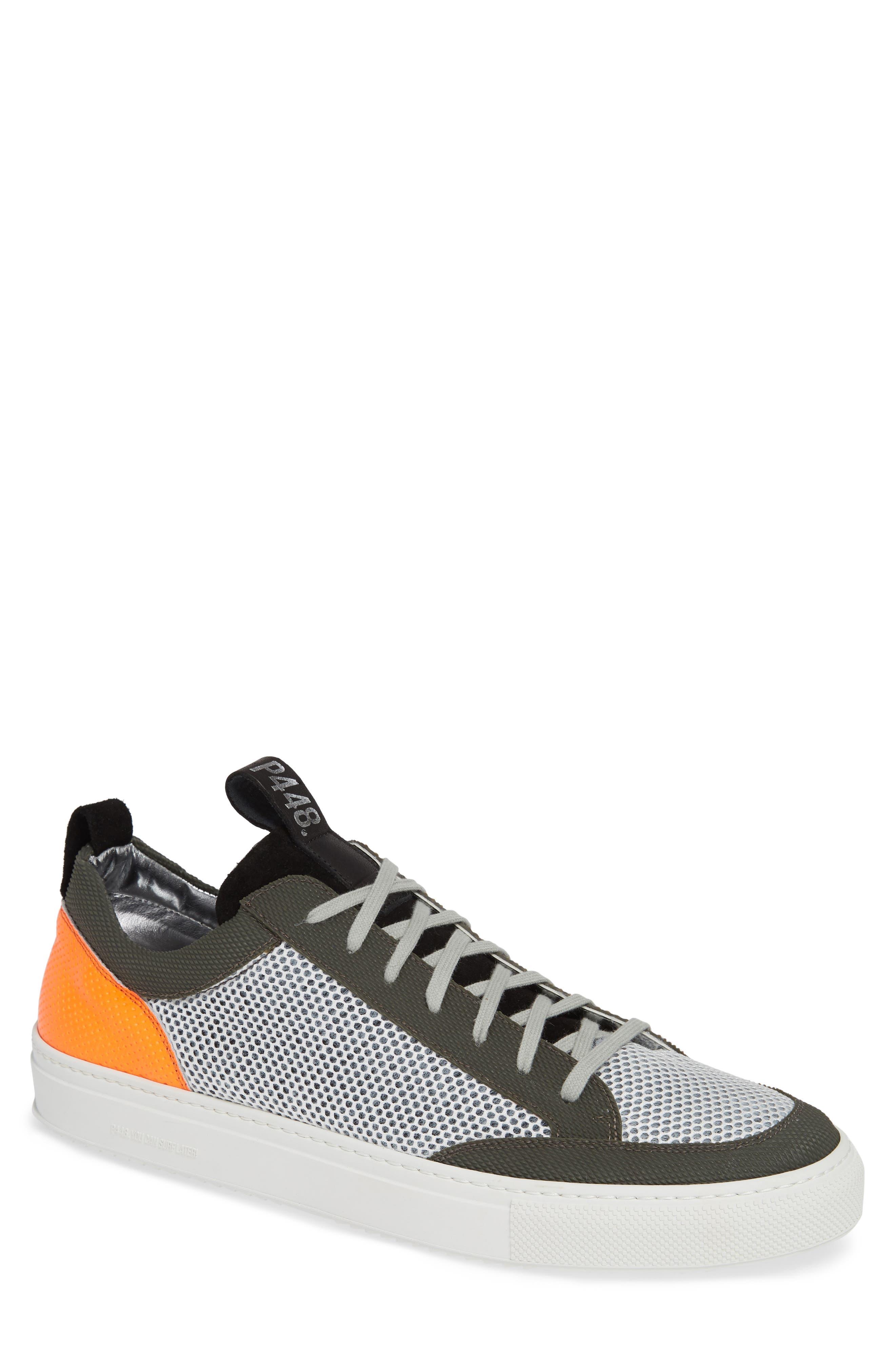 A8Soho Textured Sneaker,                             Main thumbnail 1, color,                             WHITE/ GREY