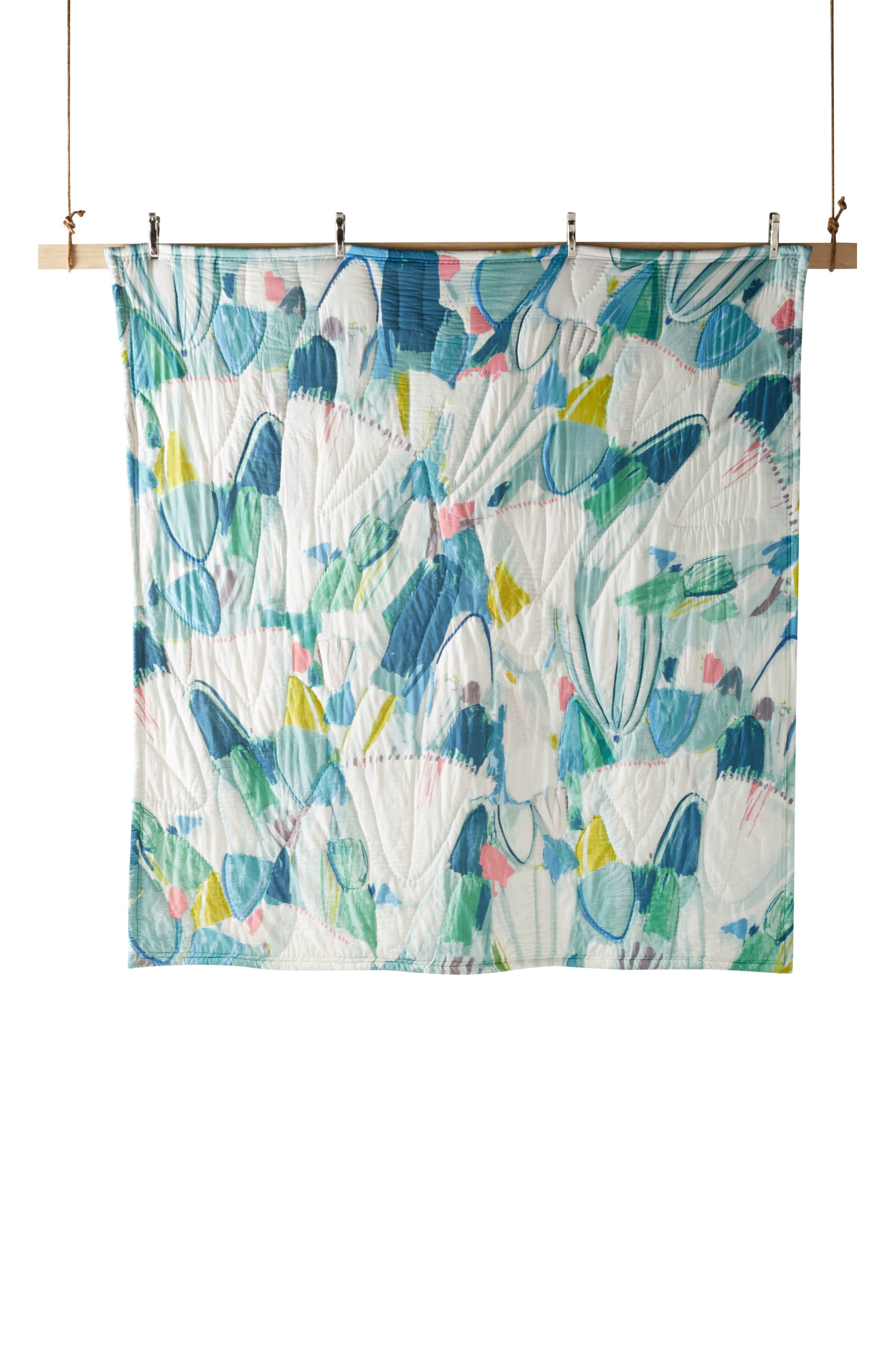 Laci Fowler Quilt,                             Alternate thumbnail 4, color,                             BLUE