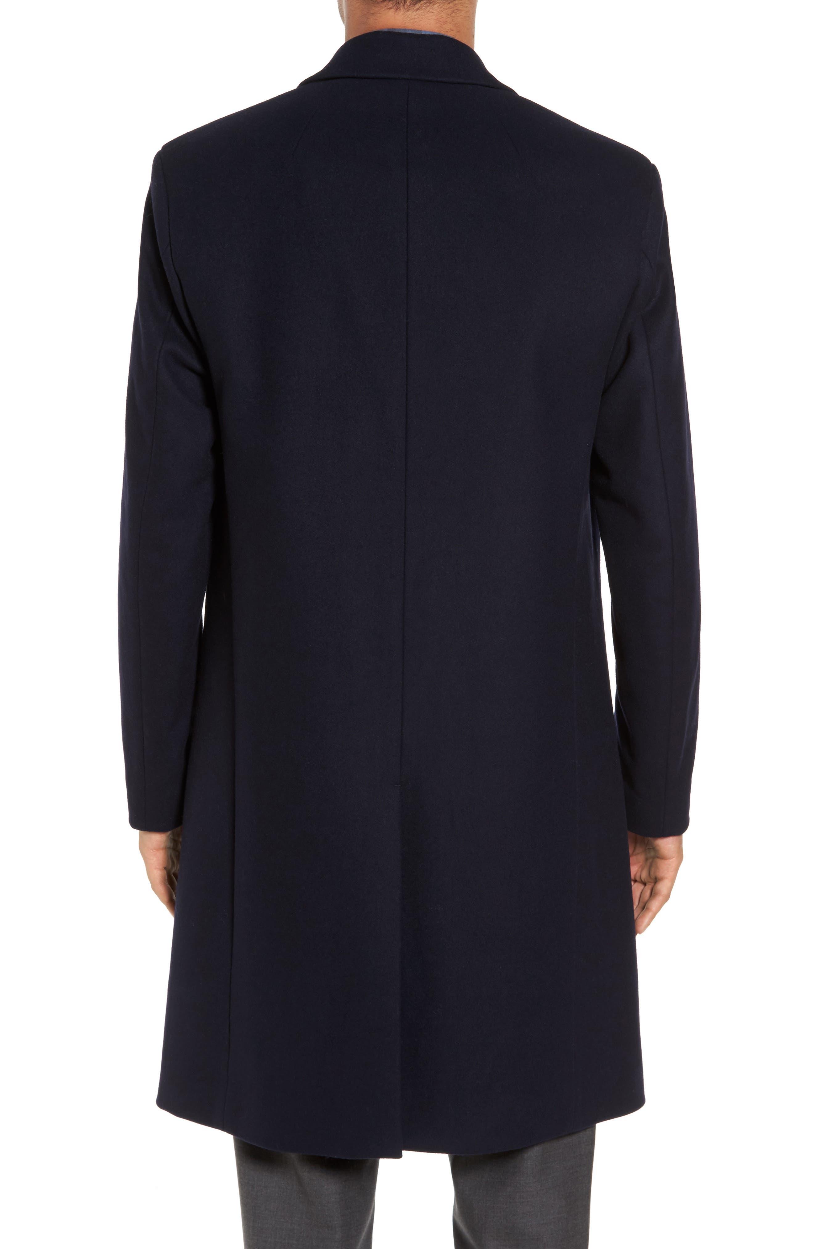Bower Melton Wool Blend Topcoat,                             Alternate thumbnail 6, color,