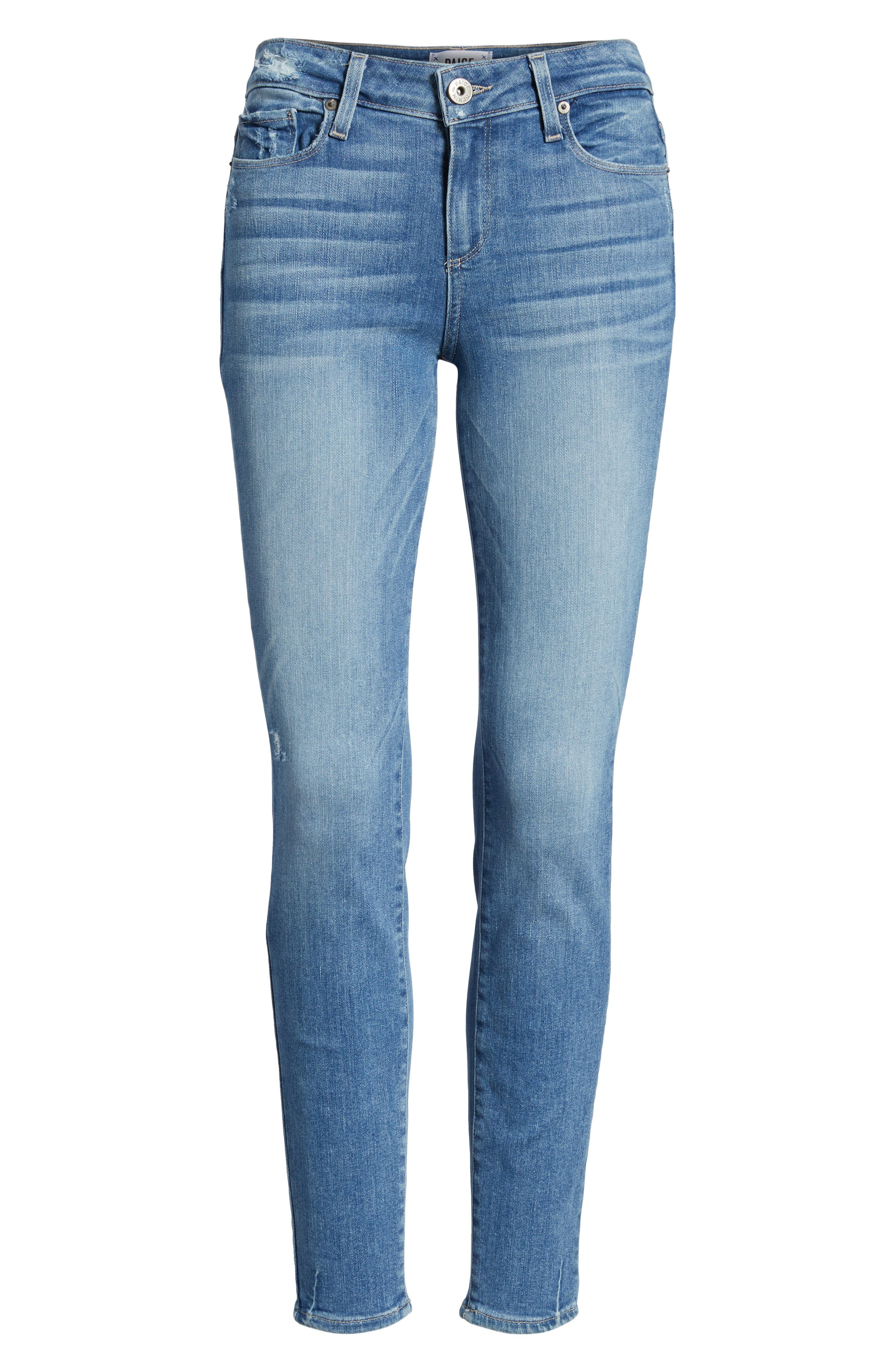 Transcend Vintage - Verdugo Ultra Skinny Jeans,                             Alternate thumbnail 6, color,                             400