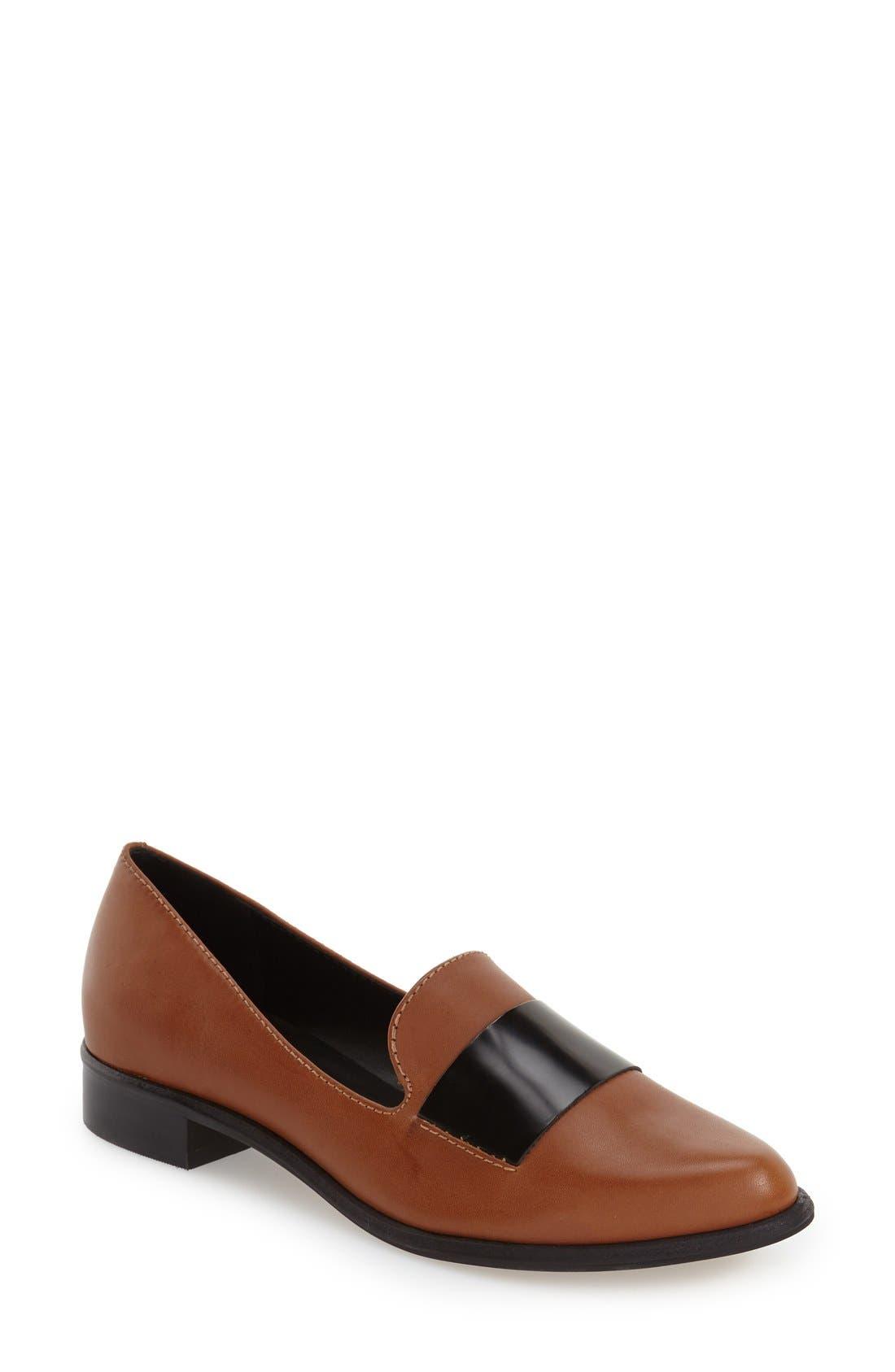 M4D3 'Ocean' Flat Loafer,                             Main thumbnail 5, color,