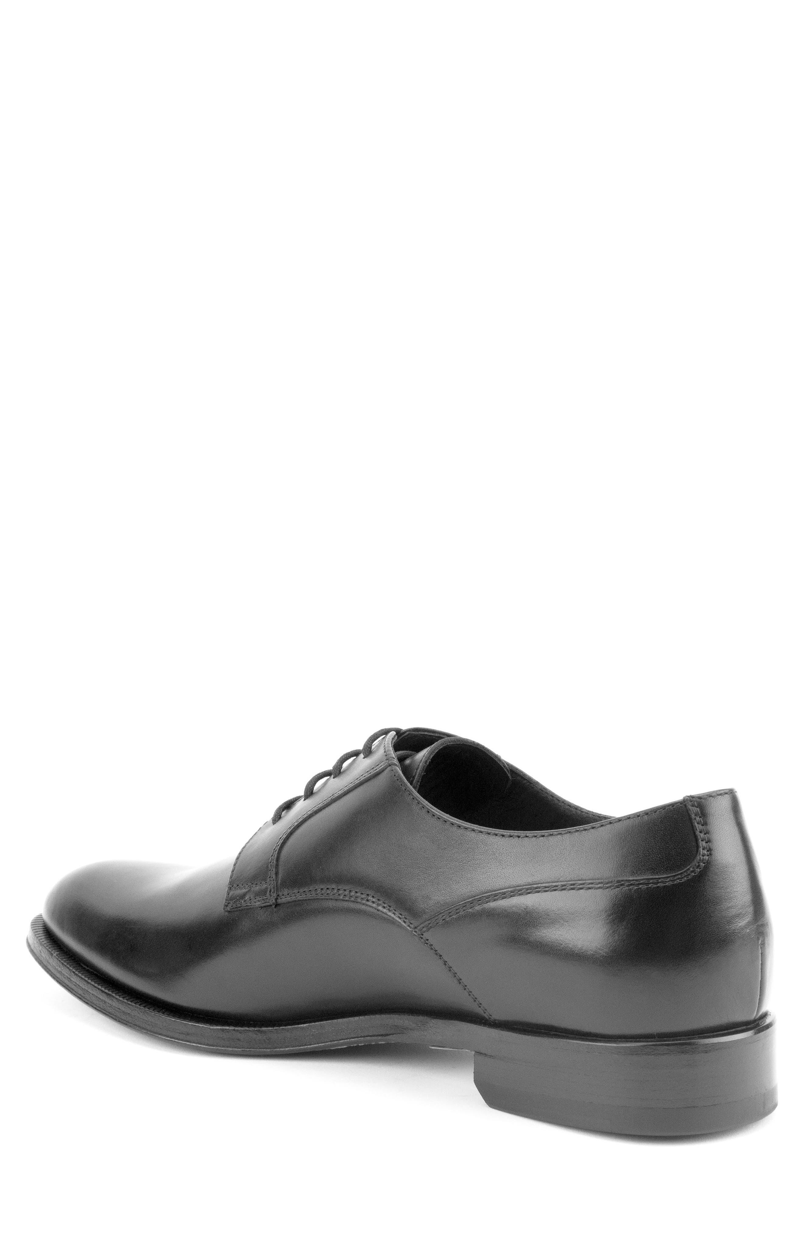 Devin Plain Toe Derby,                             Alternate thumbnail 2, color,                             BLACK