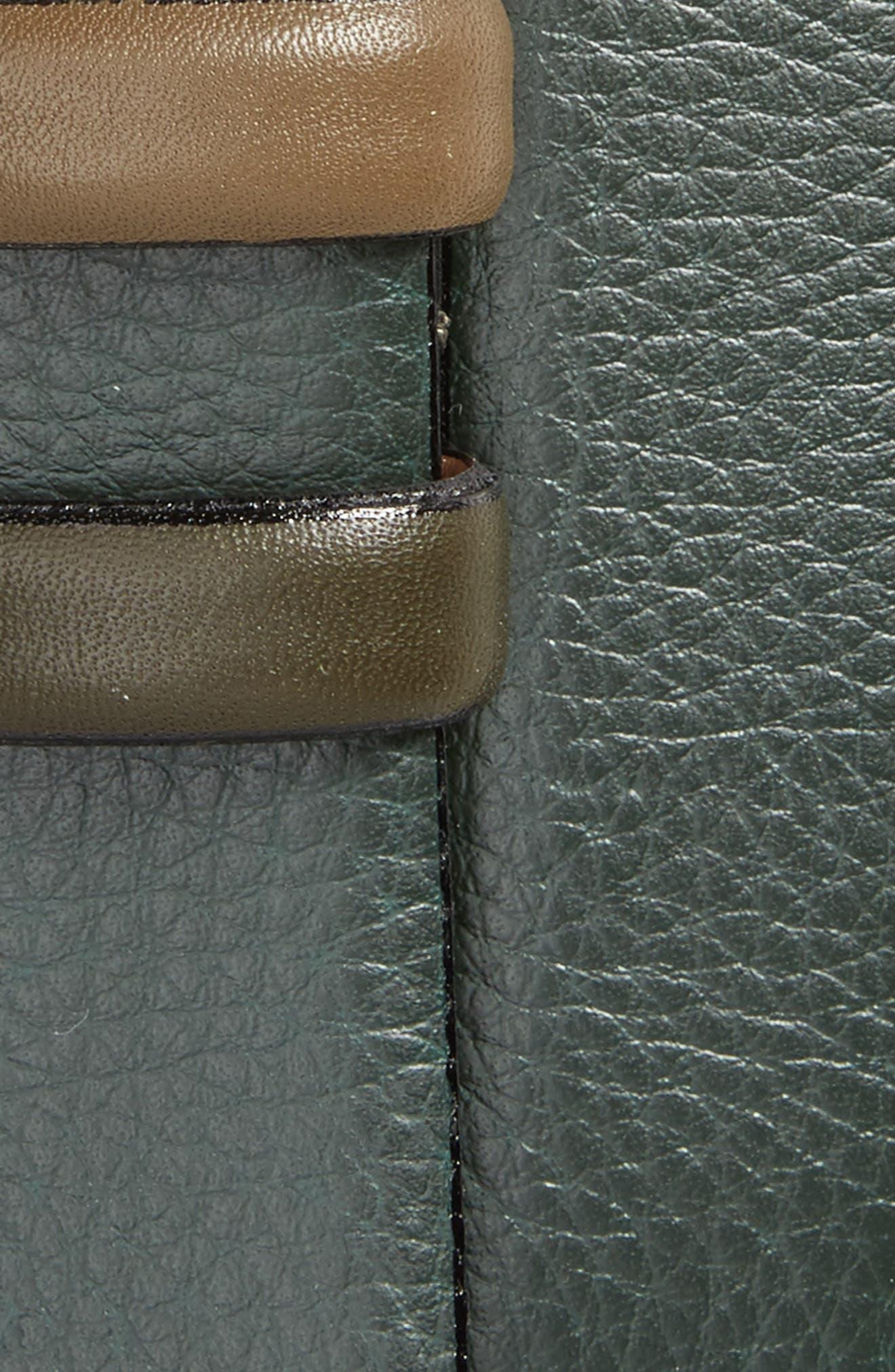 Shrubs Leather Belt,                             Alternate thumbnail 6, color,
