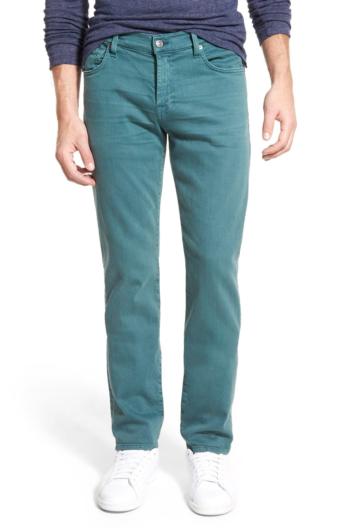 'Slimmy - Luxe Performance' Slim Fit Jeans,                             Main thumbnail 11, color,