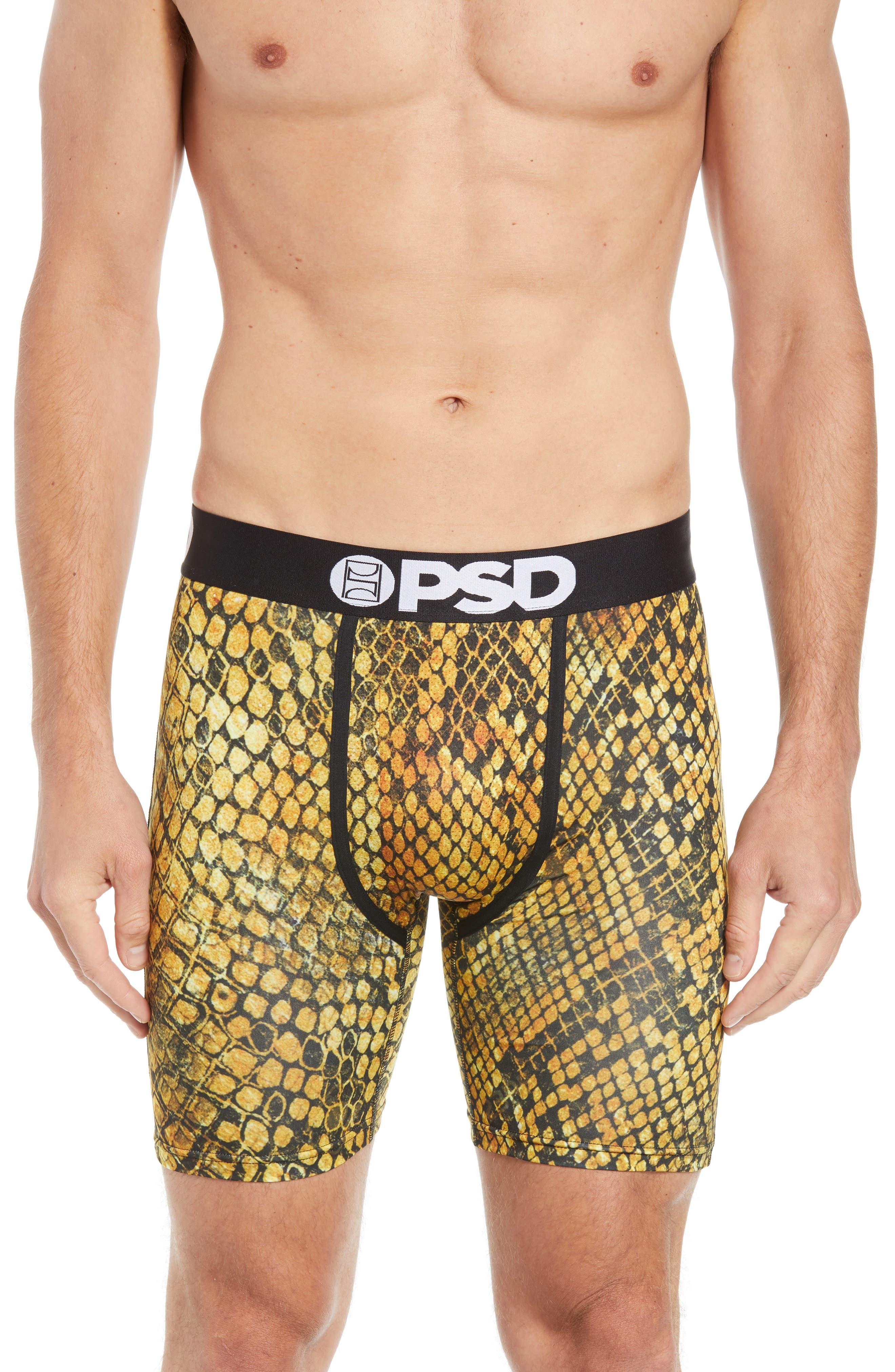 Gold Snake Boxer Briefs,                         Main,                         color, GOLD