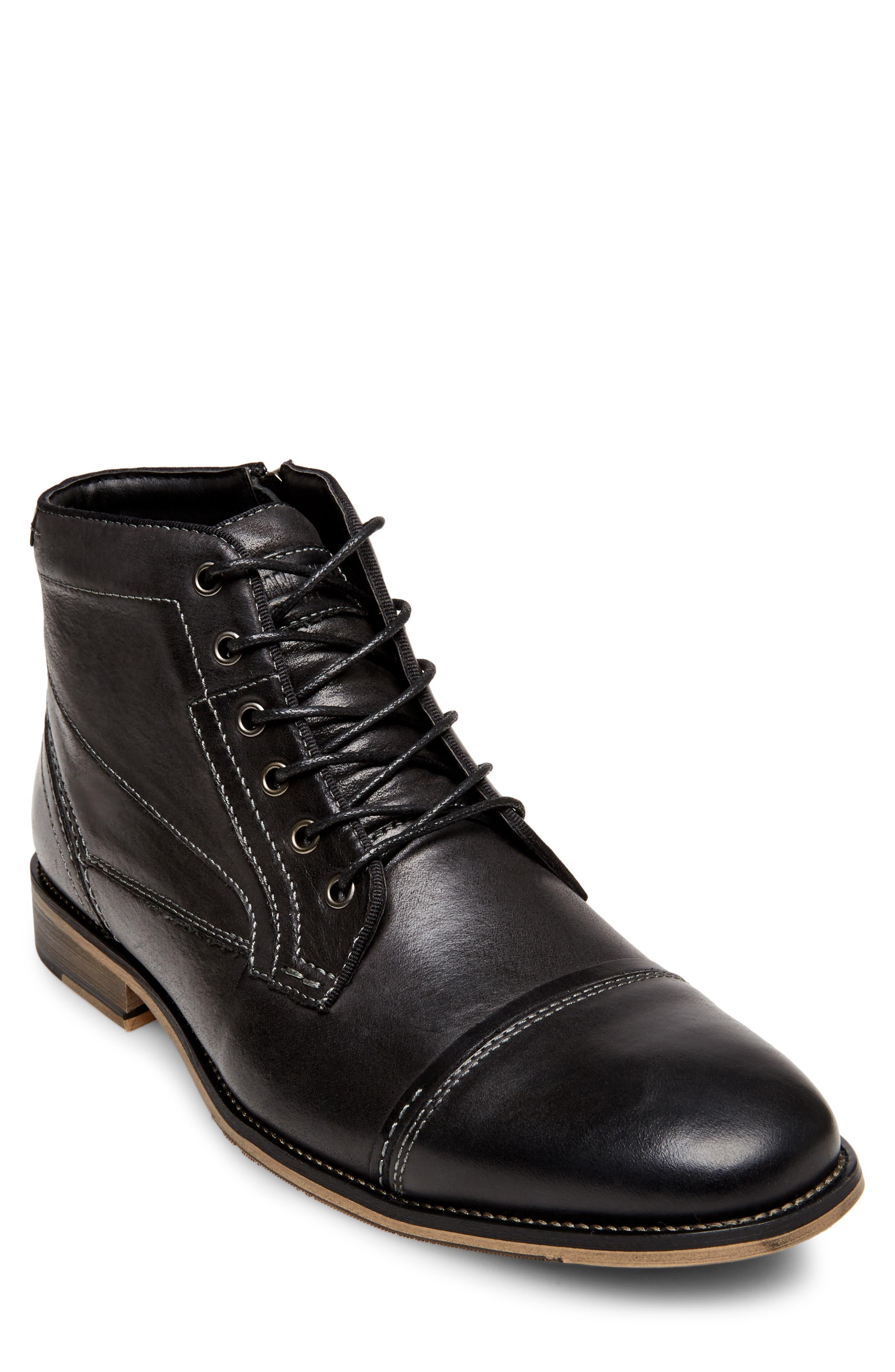 Jeffries Cap Toe Boot,                         Main,                         color, 074