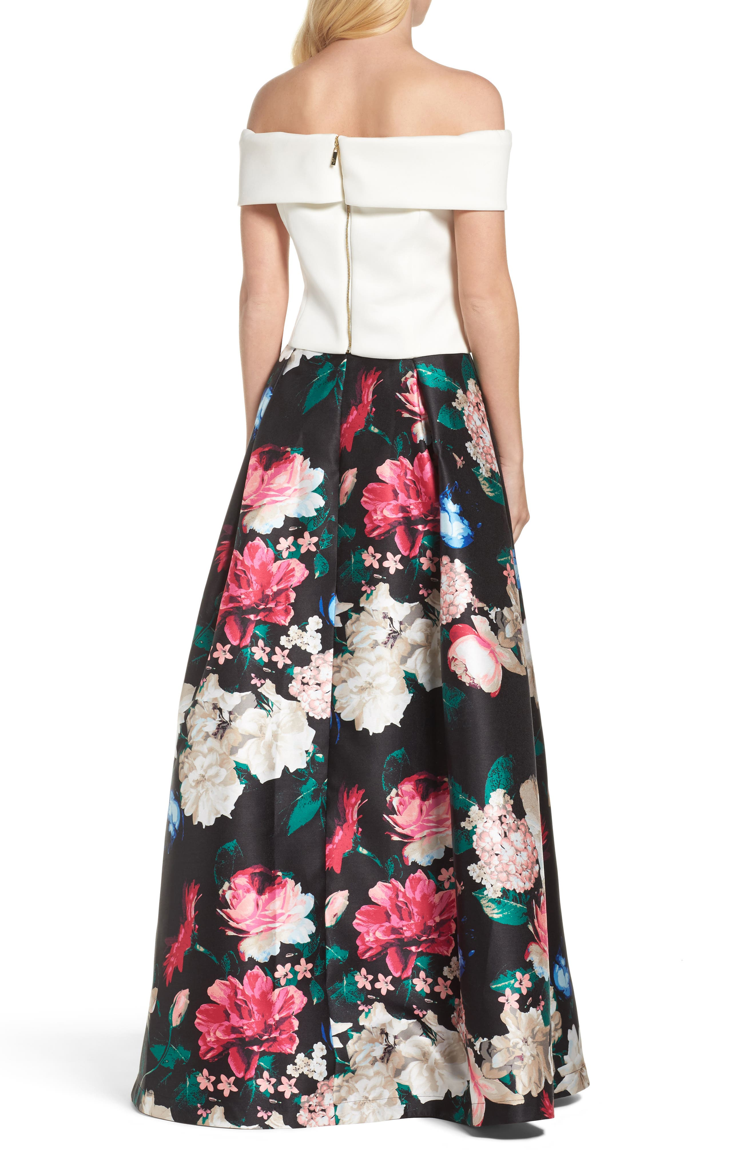Faille Ball Skirt,                             Alternate thumbnail 7, color,                             006