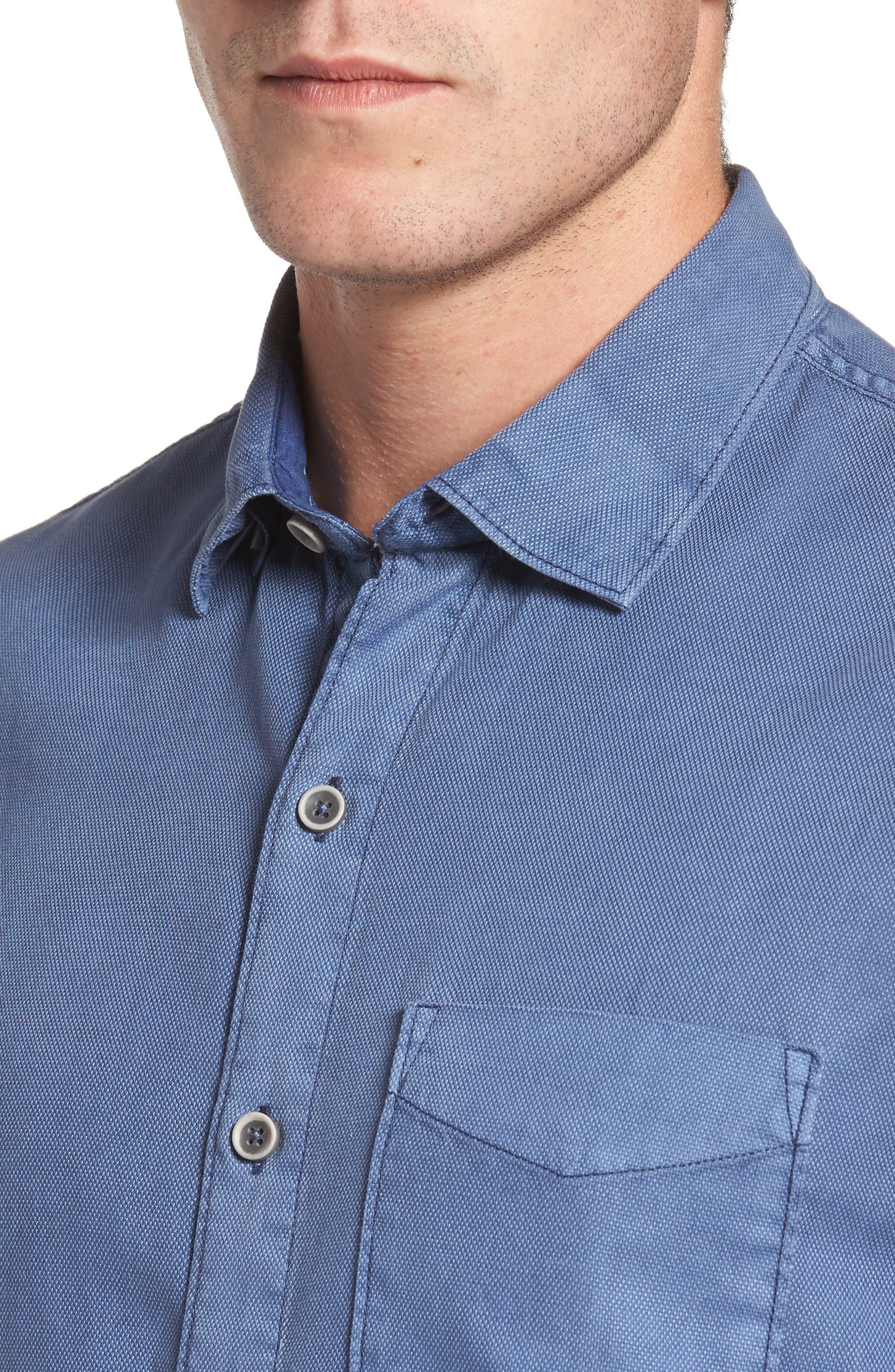 Dobby Dylan Sport Shirt,                             Alternate thumbnail 11, color,