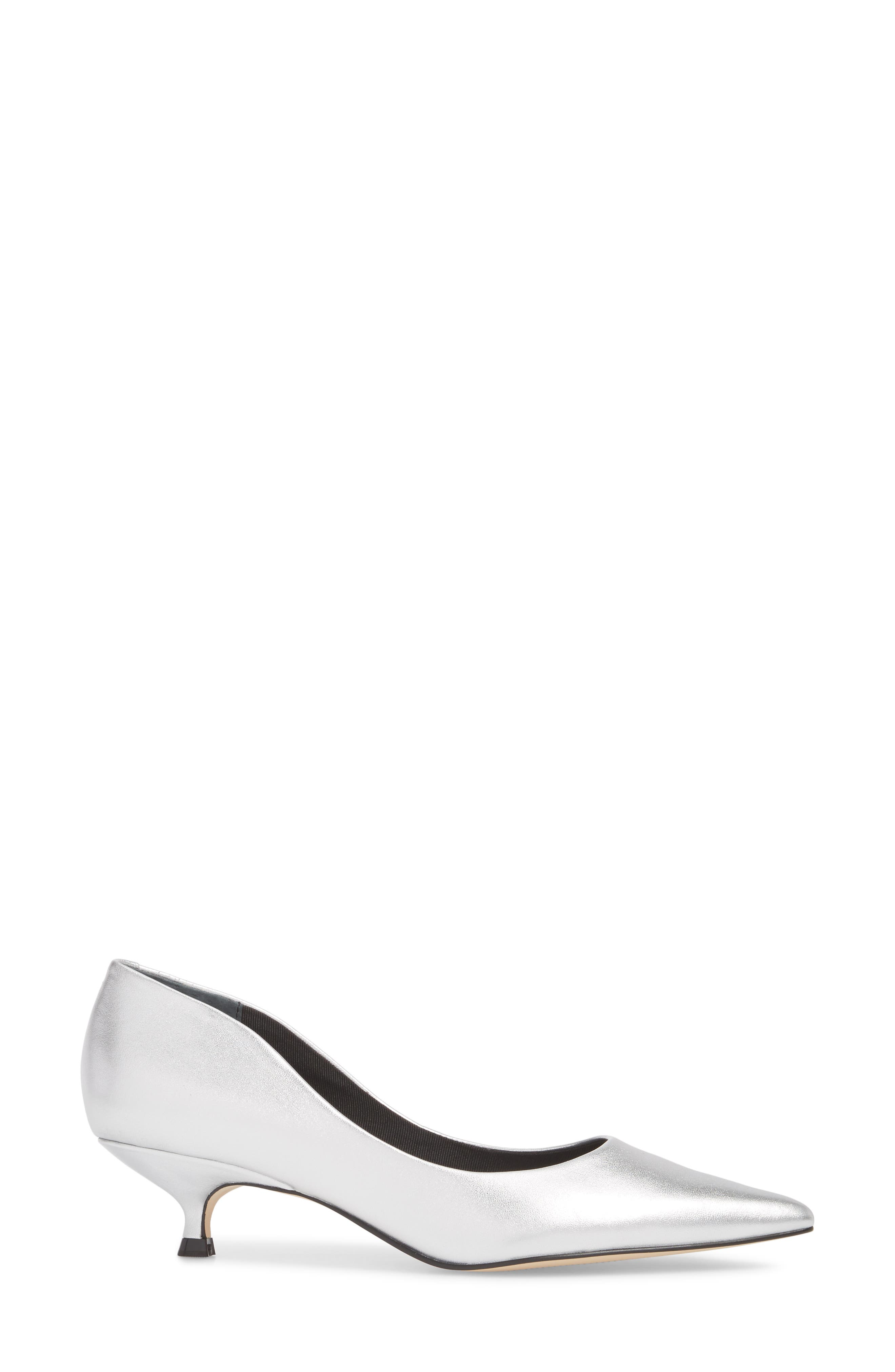 Xanthe Kitten Heel Pump,                             Alternate thumbnail 13, color,