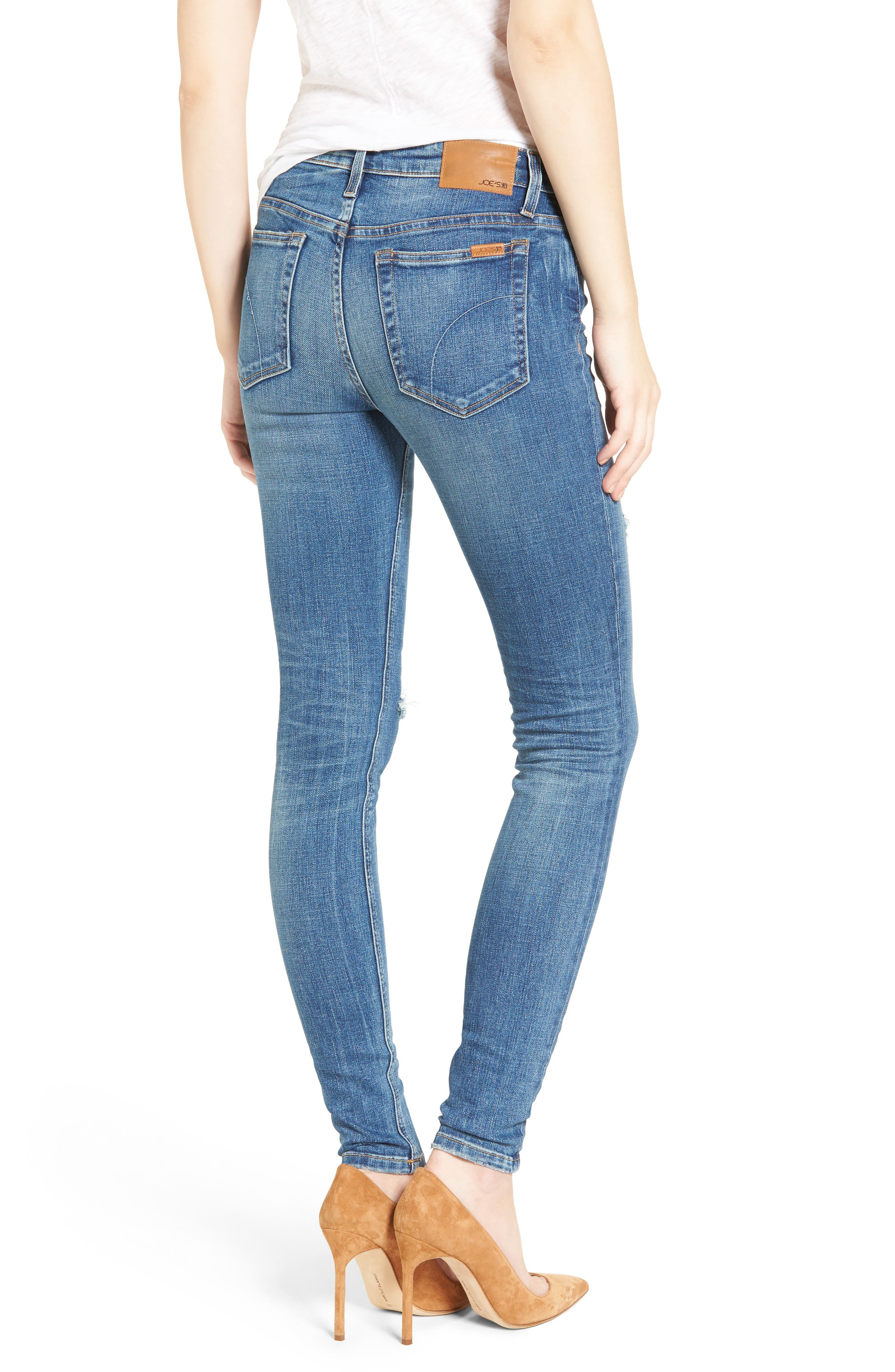 Icon Skinny Jeans,                             Alternate thumbnail 2, color,                             410