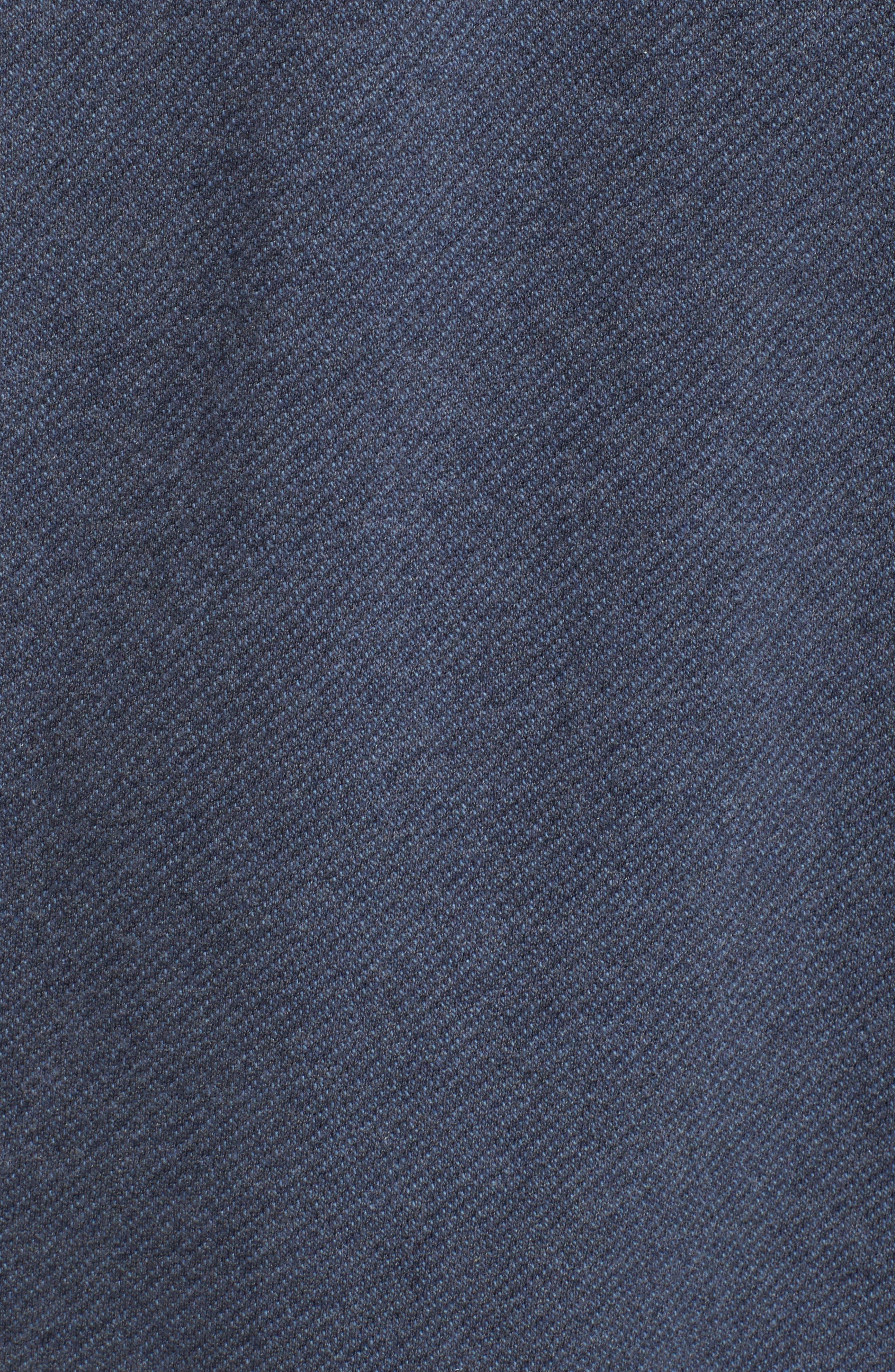 Bouclé Sweatshirt,                             Alternate thumbnail 5, color,                             413