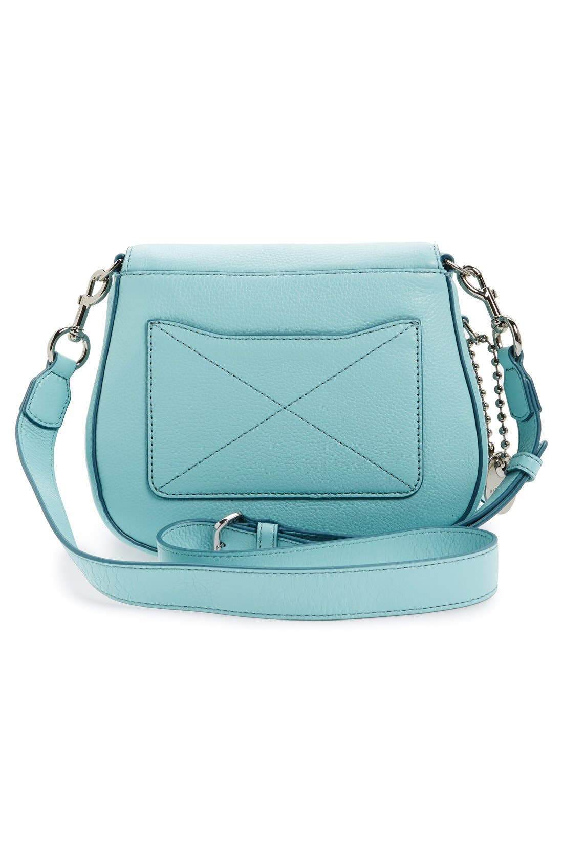 Small Recruit Nomad Pebbled Leather Crossbody Bag,                             Alternate thumbnail 38, color,
