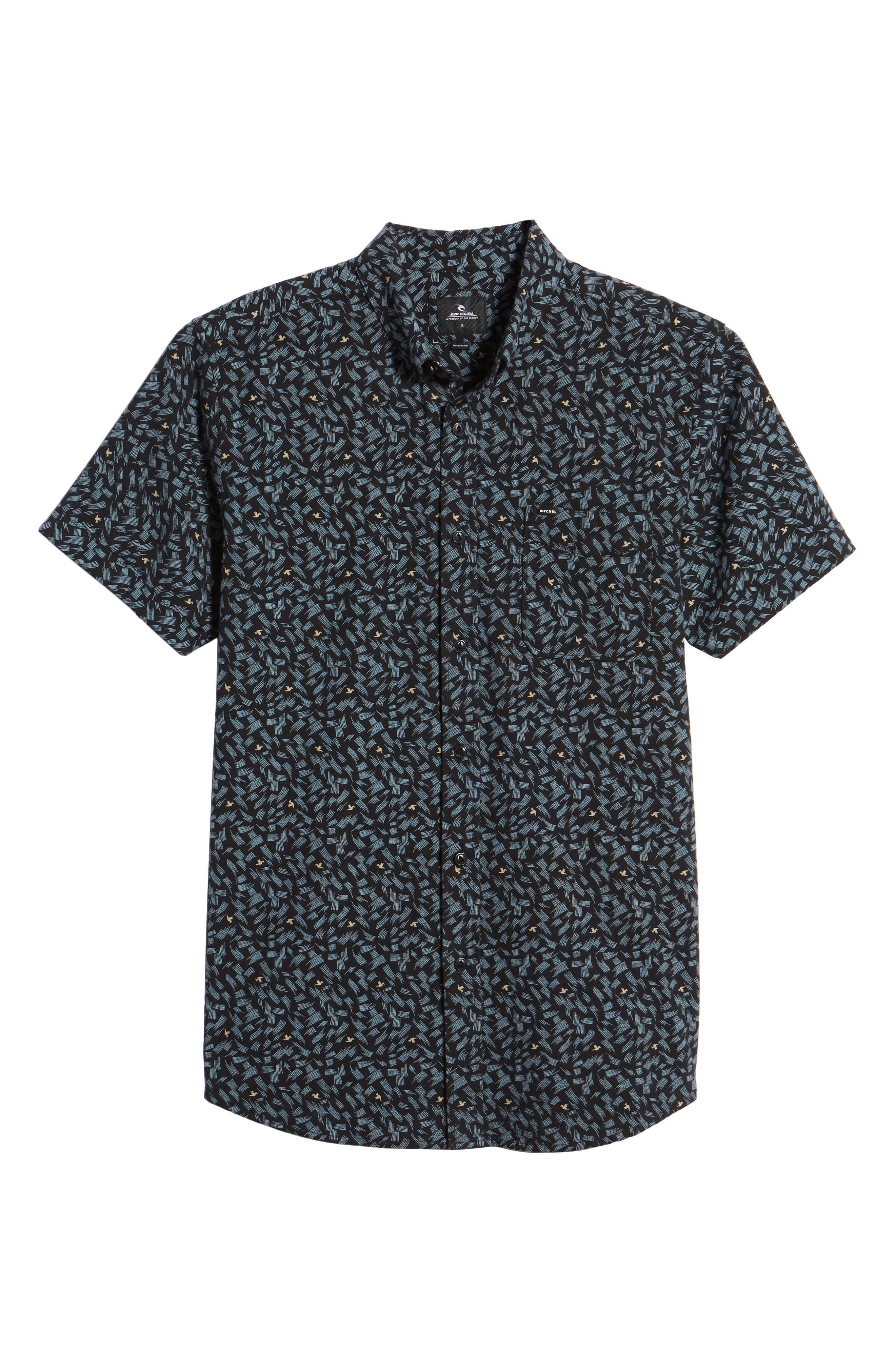 Northern Short Sleeve Shirt,                             Alternate thumbnail 6, color,                             001
